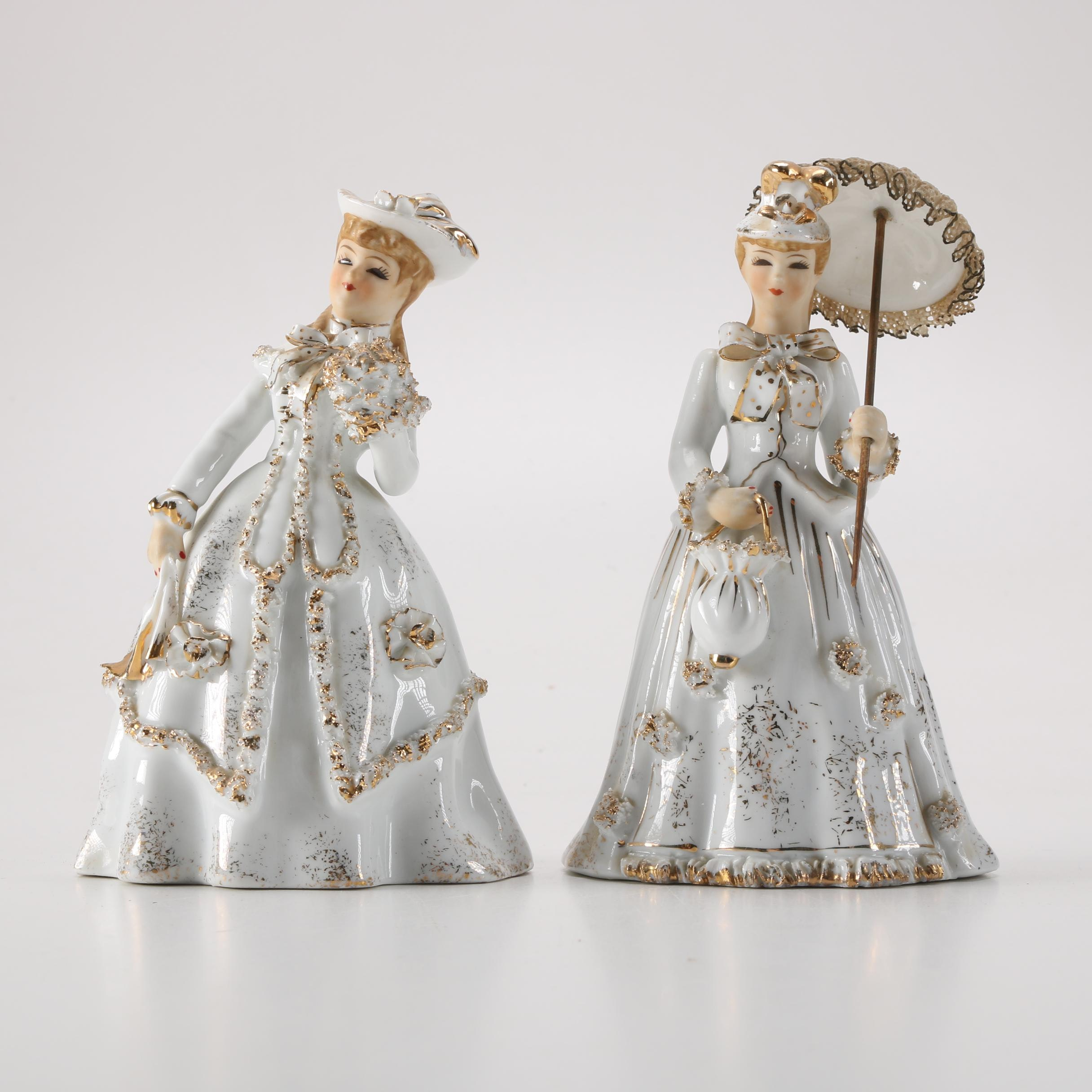 Pair of Lefton China Hand-Painted Figurines