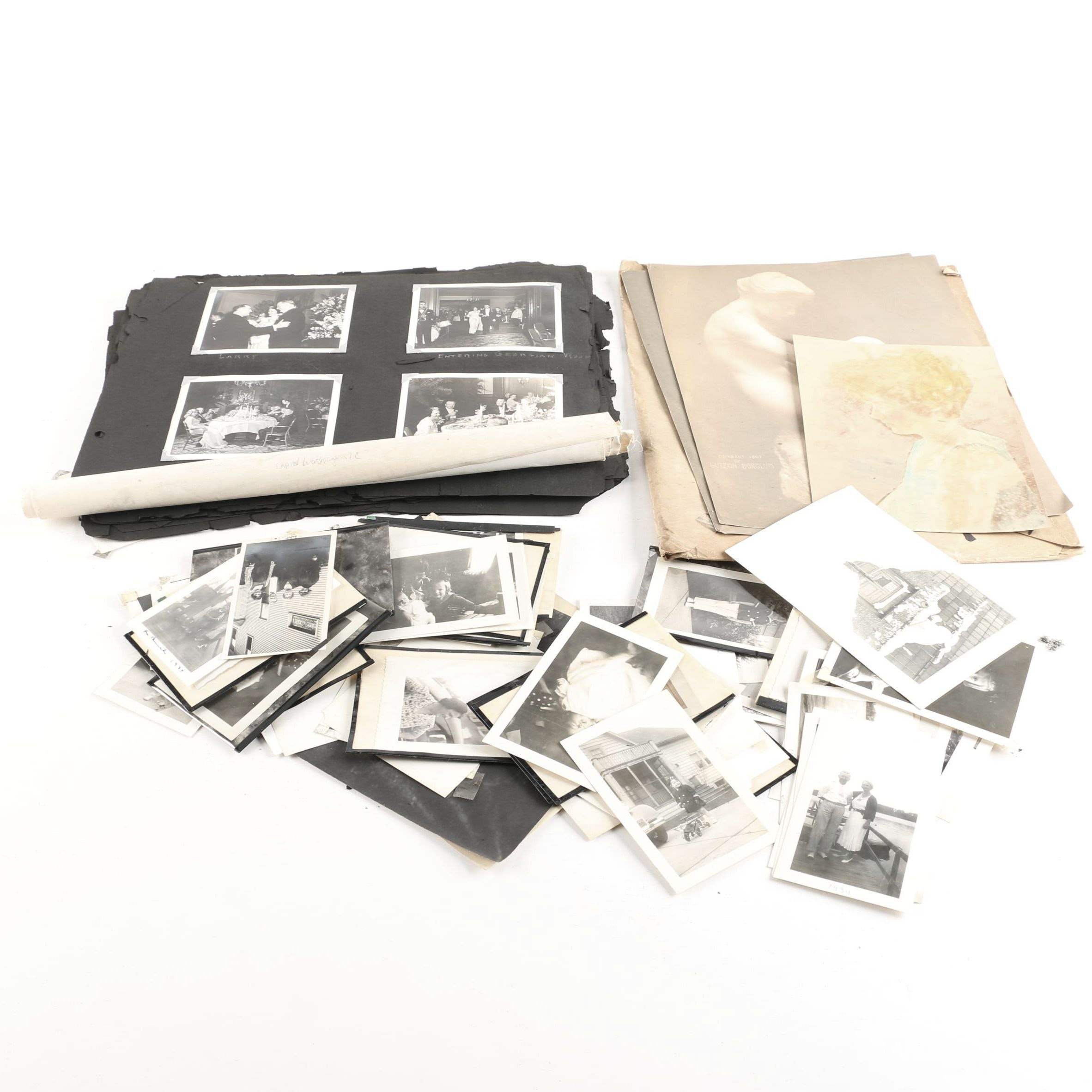 Vintage Loose Photographs and Scrapbooks