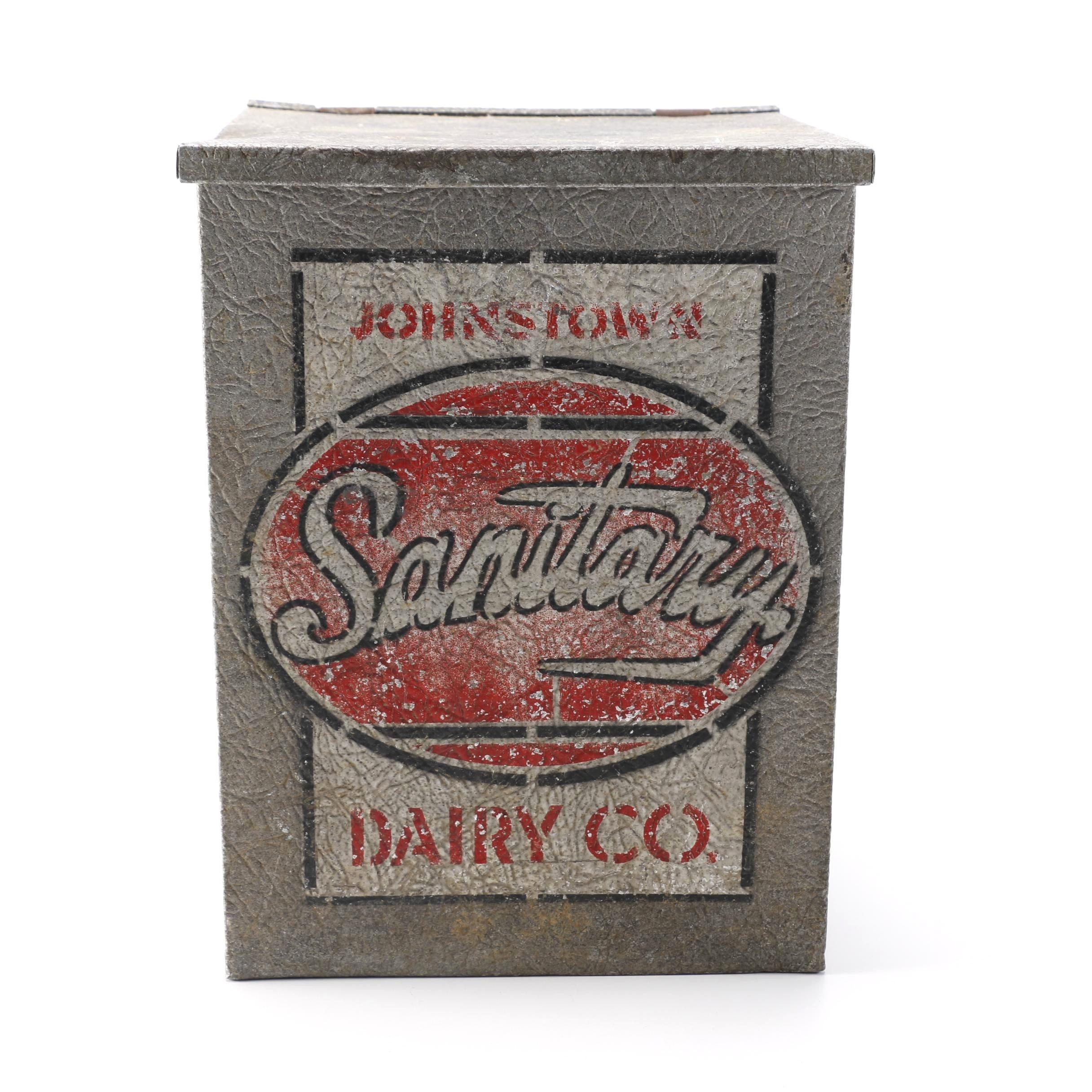Vintage Johnstown Dairy Co. Milk Box