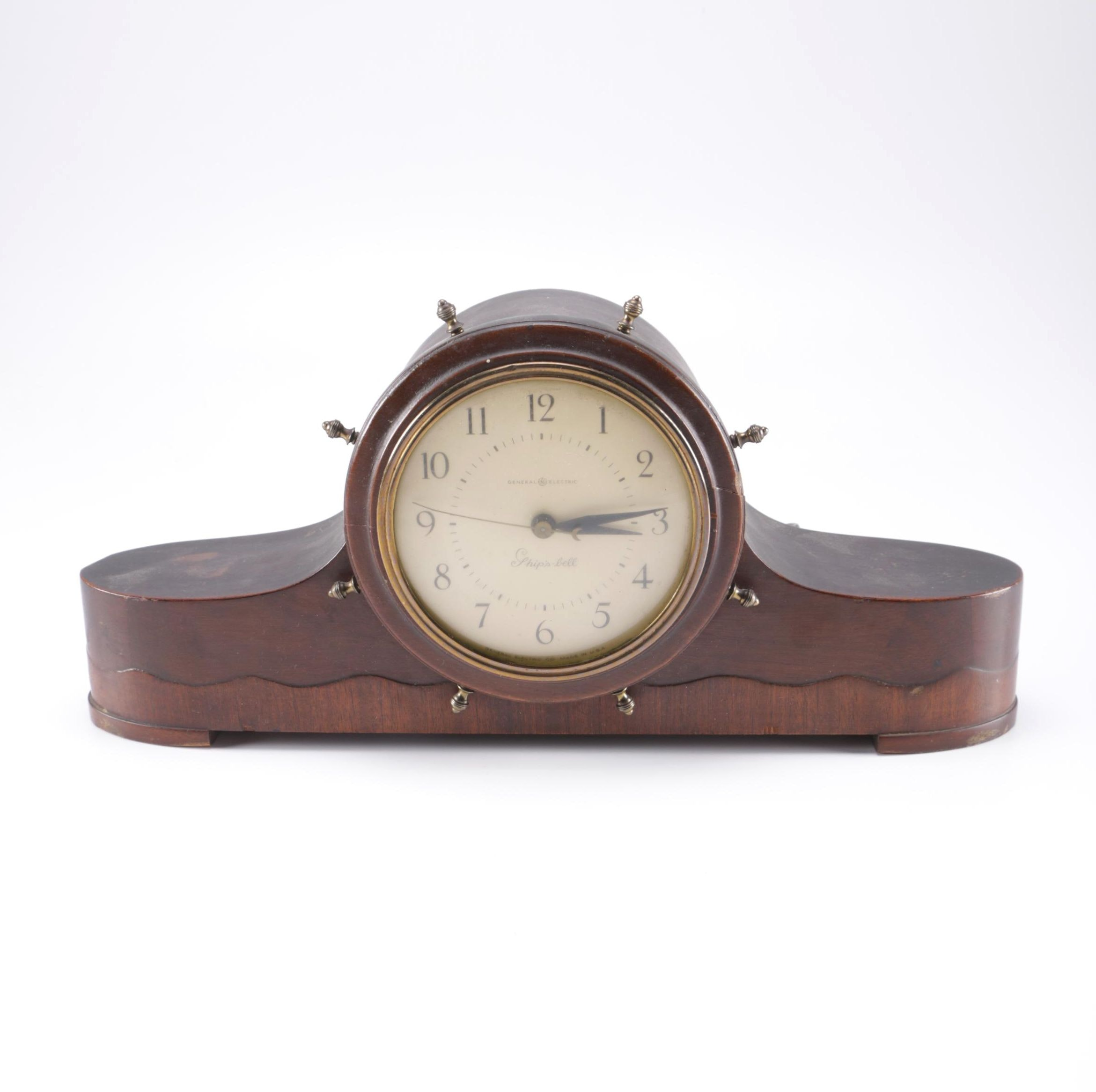 General Electric Ships Bell Mantel Clock