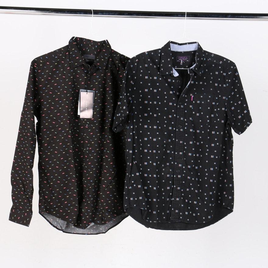 3c42fe87 Men's Button Down Shirts Including Muwka and Zara Man : EBTH