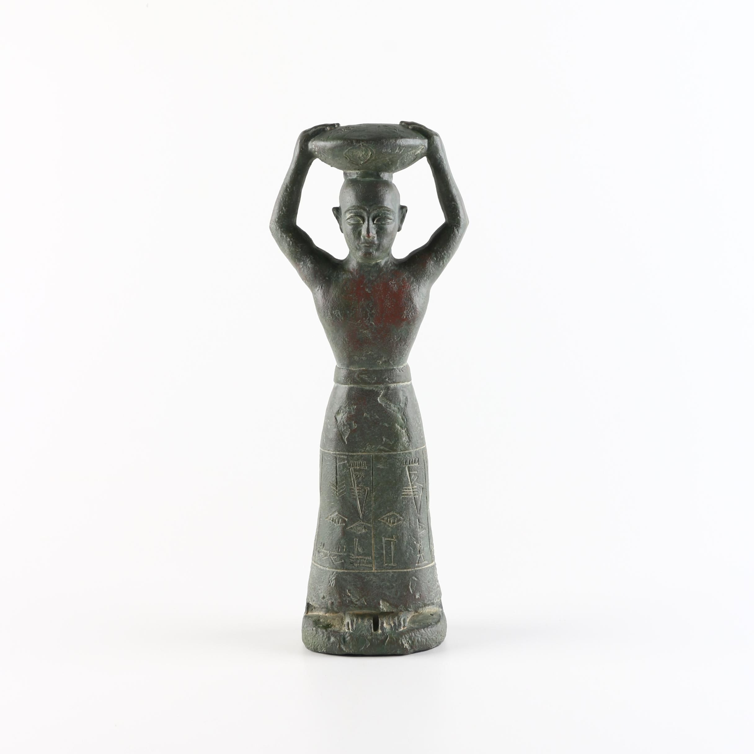 Reproduction Neo-Sumerian Foundation Figurine