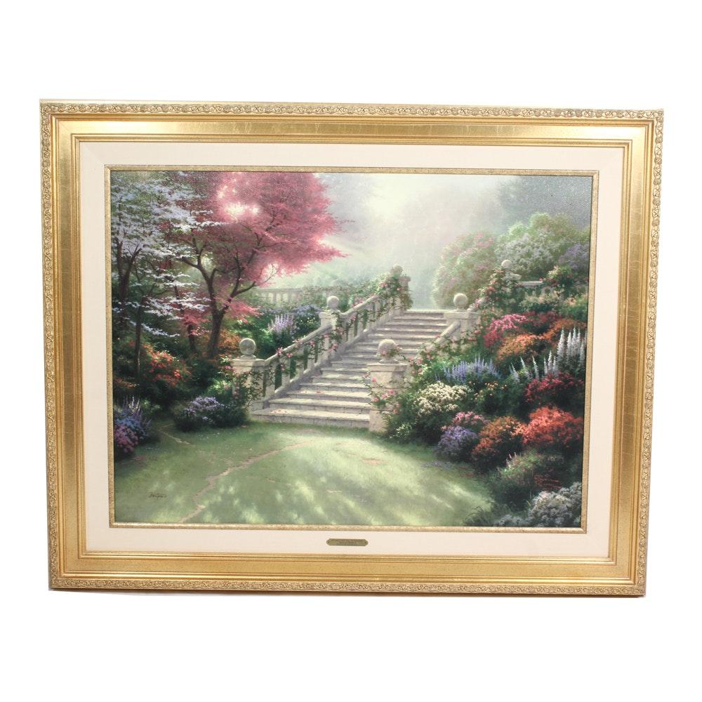"Thomas Kinkade Limited Edition Print ""Stairway To Paradise"""