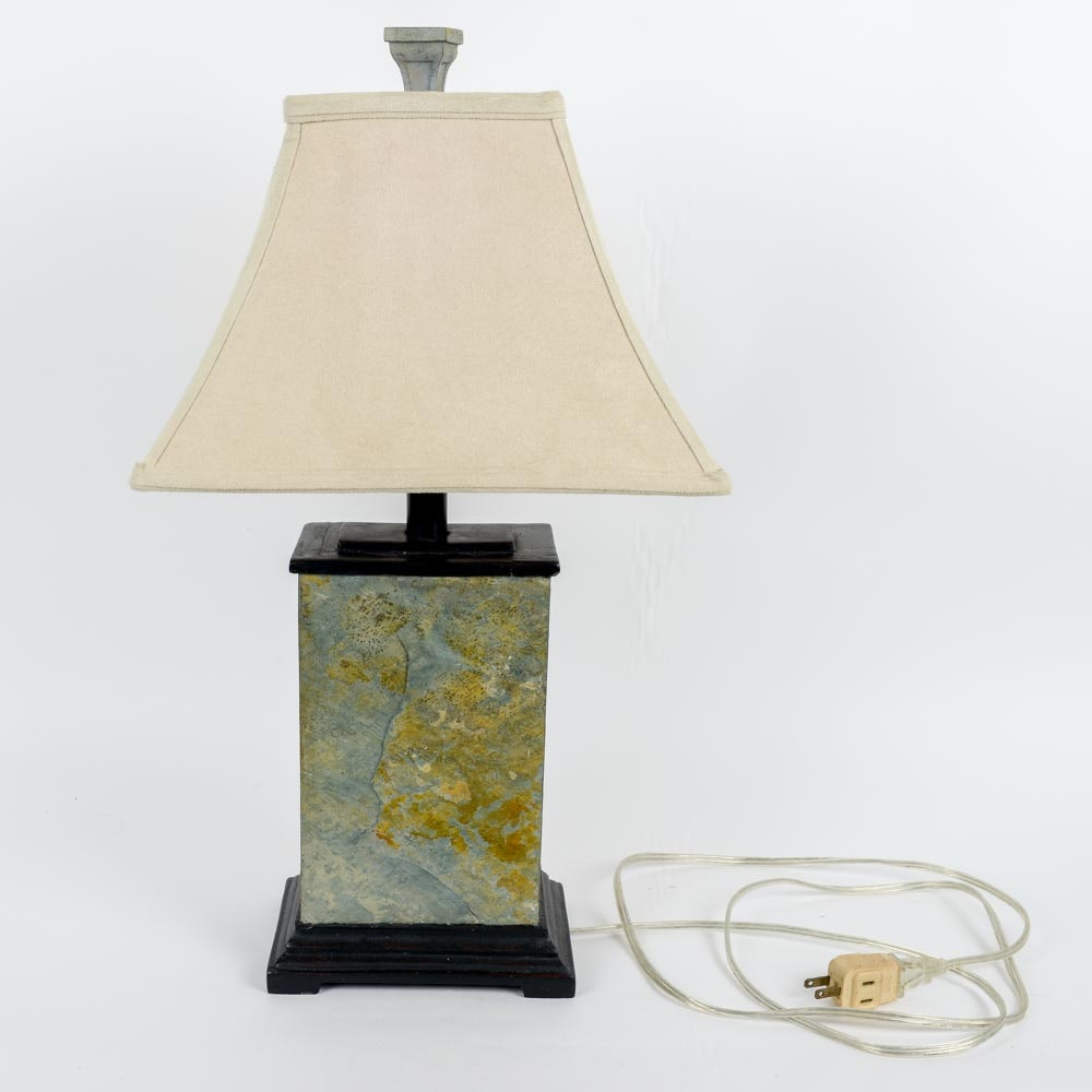 Decorative Heavy Stone Table Lamp