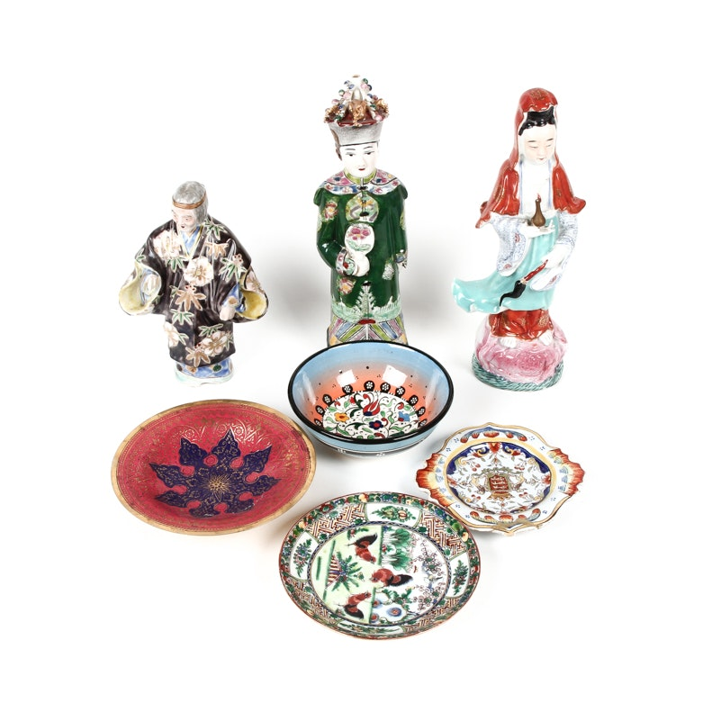 Chinese Ceramic Figurines and Decor