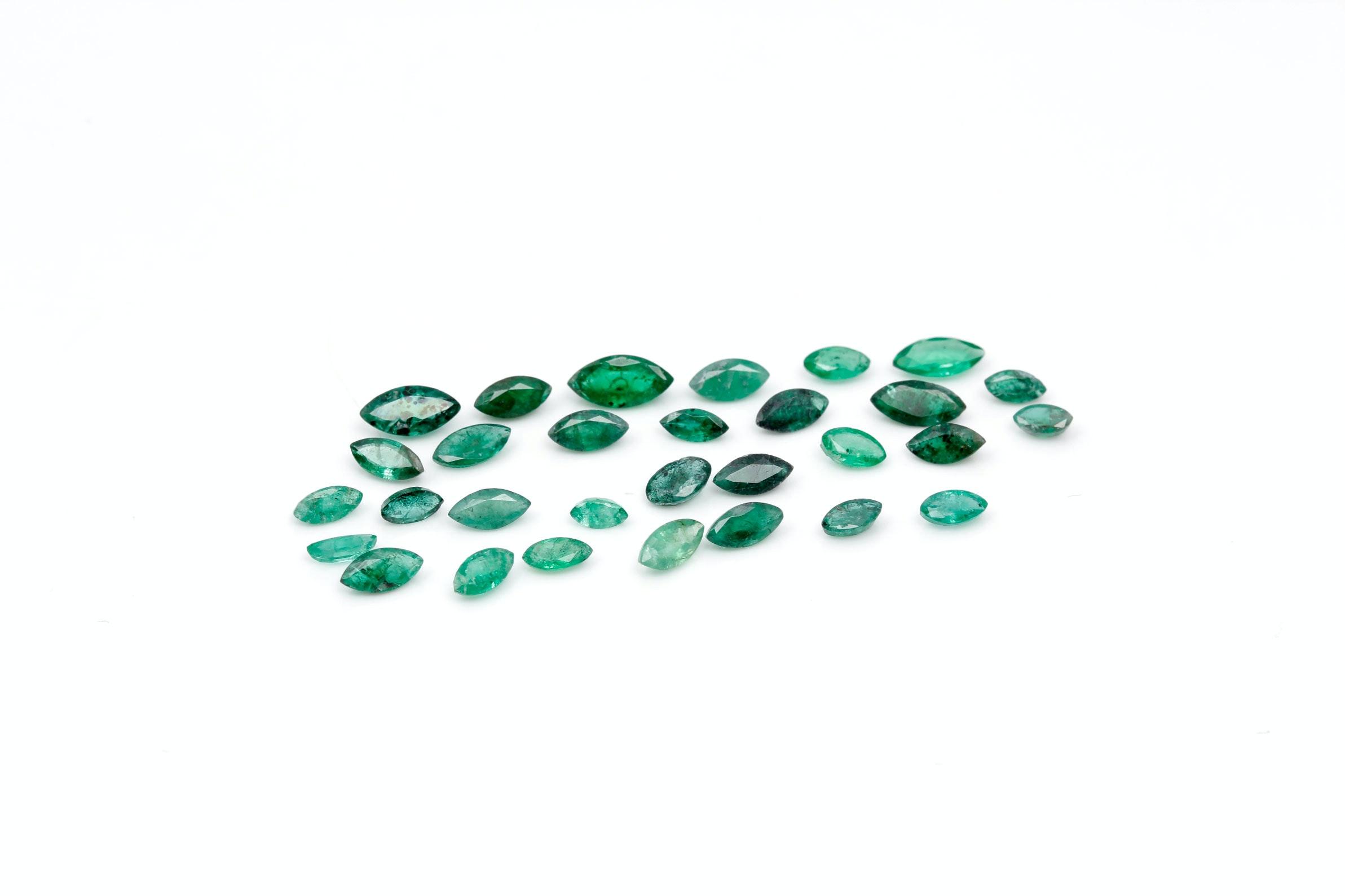 6.55 CTW of Emeralds
