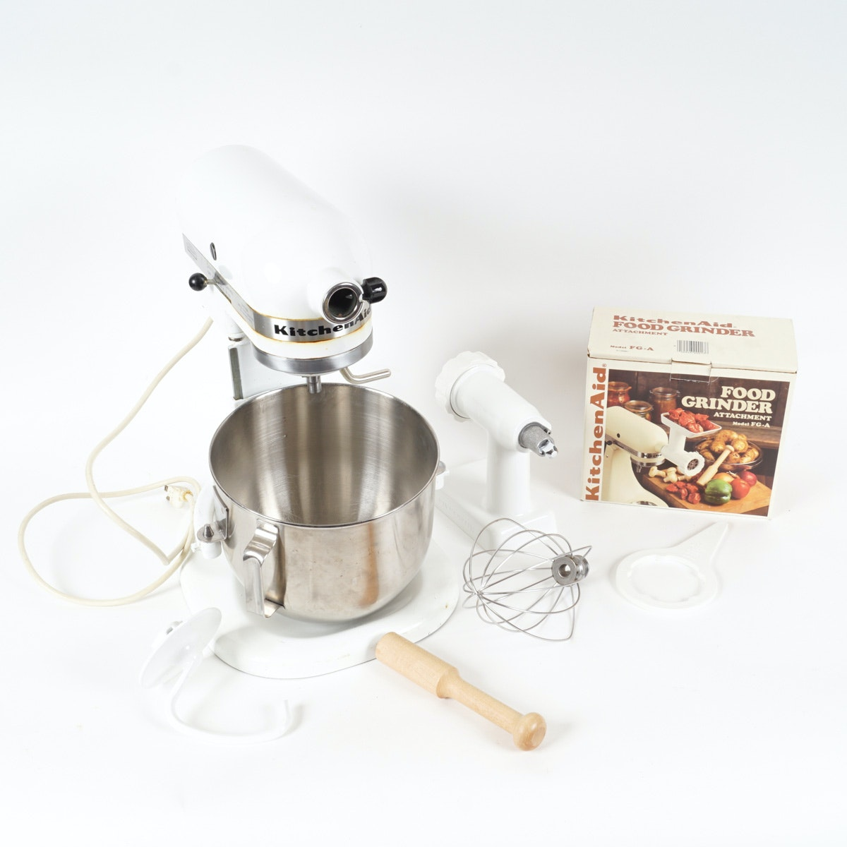 KitchenAid Stand Mixer with Accessories