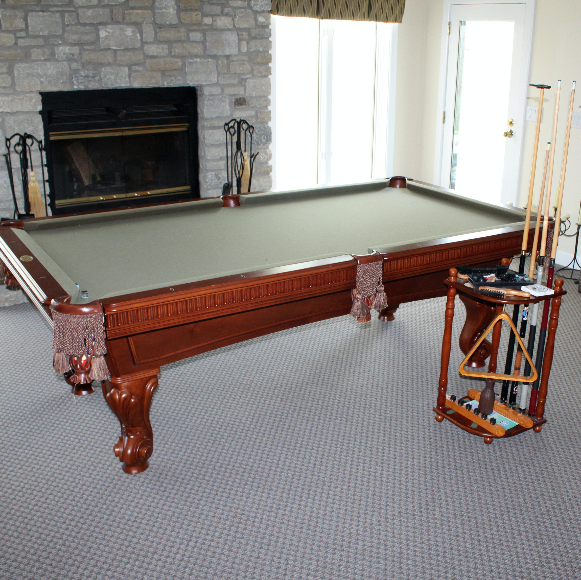 World of Leisure Billiards Table and Accessories