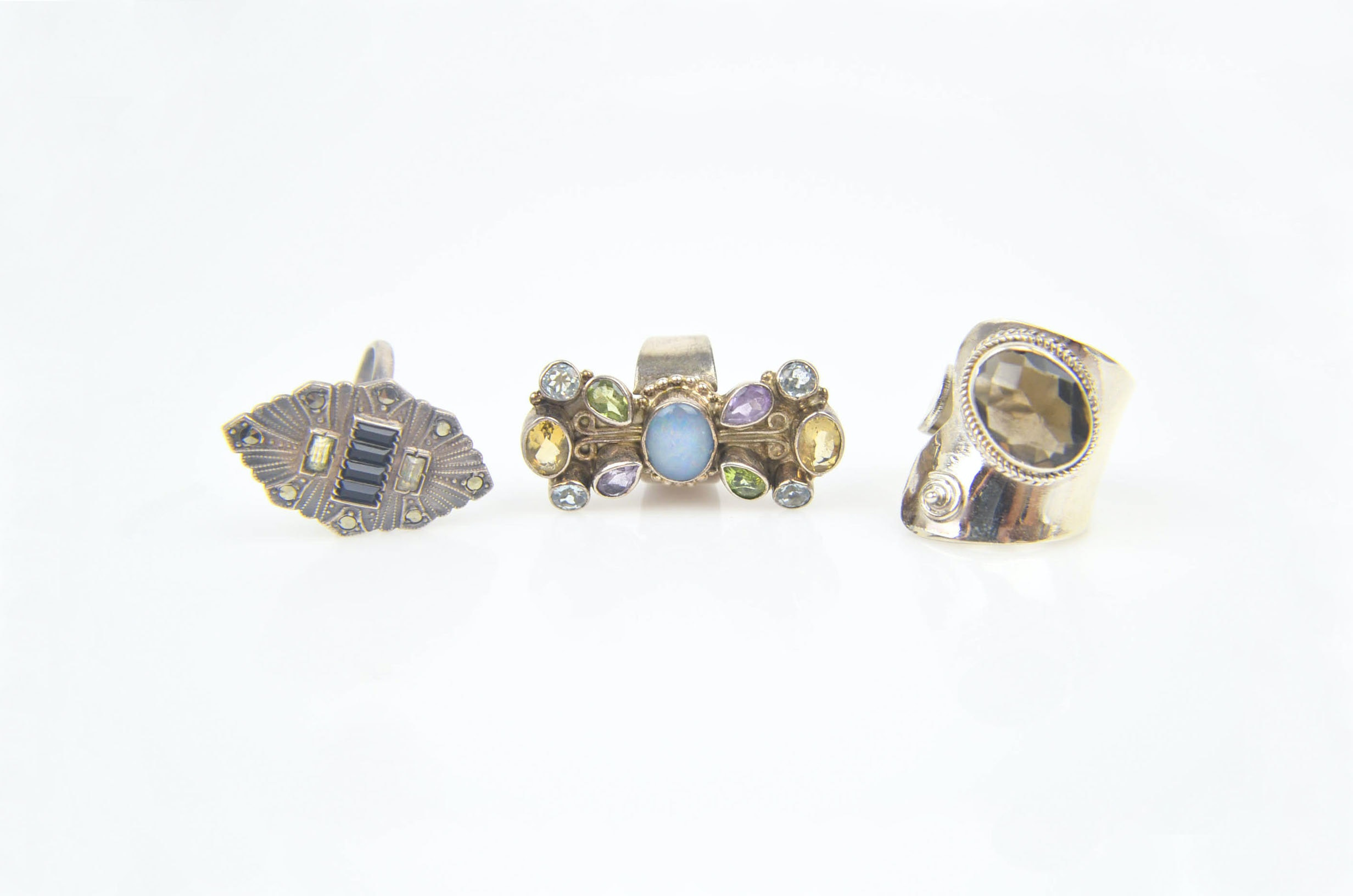 Sterling Silver Statement Rings