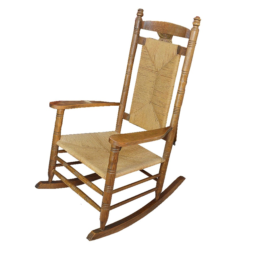 Peachy Antique Rocking Chair Beatyapartments Chair Design Images Beatyapartmentscom
