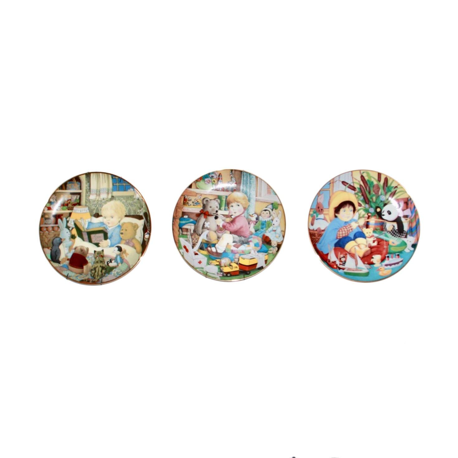 Carol Lawson Collector's Plates