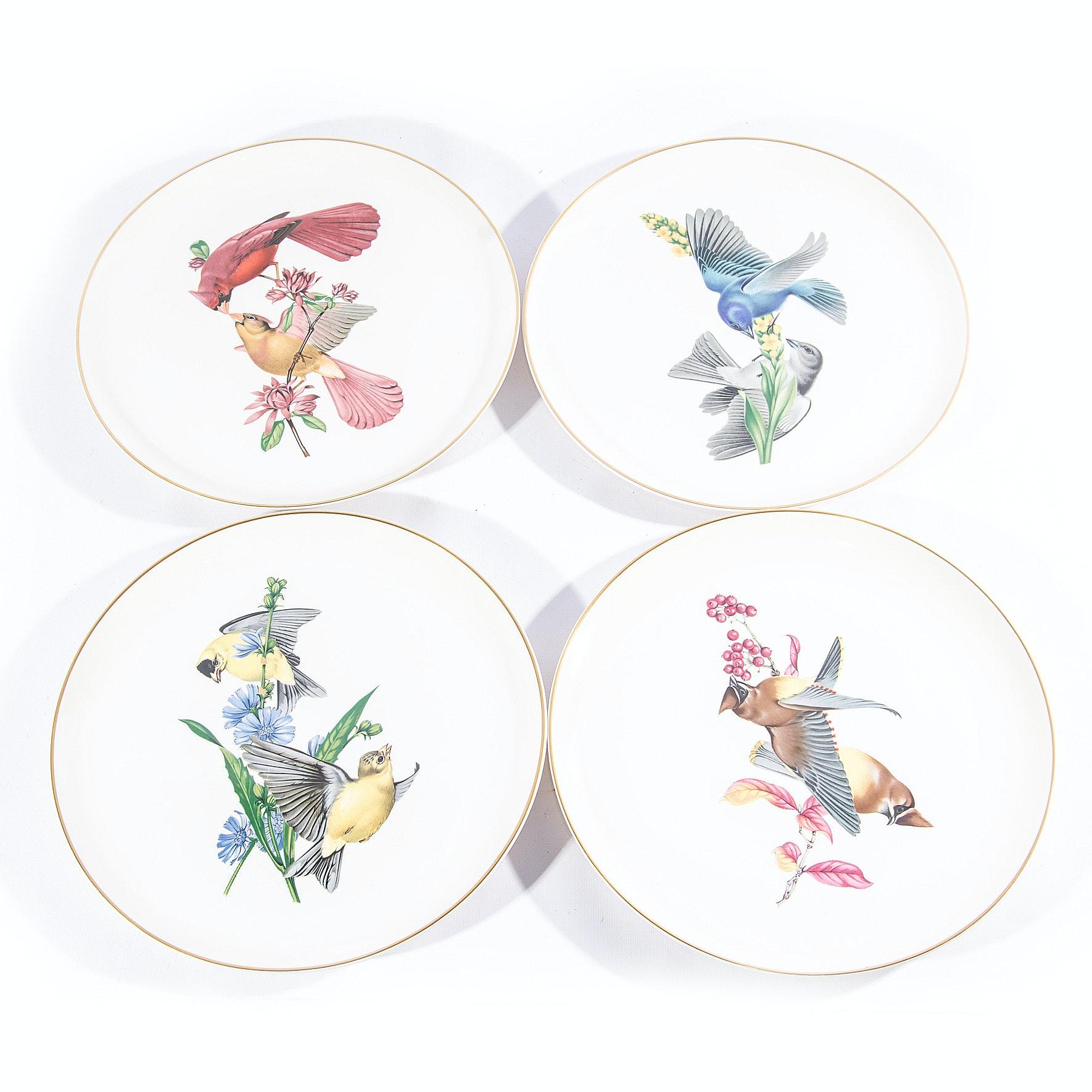 "Syracuse China ""American Song Birds"" Plates"