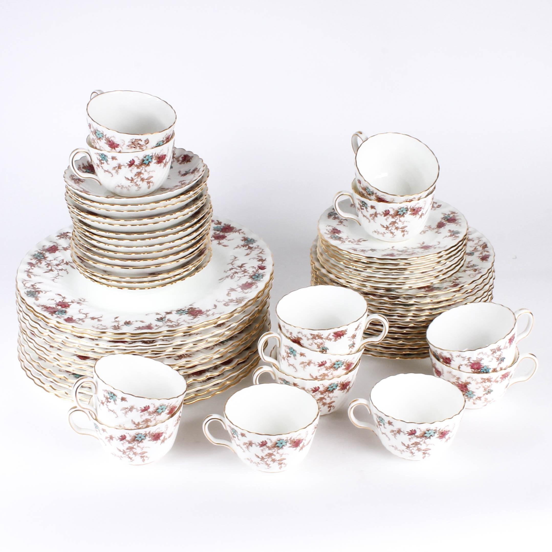 """""""Ancestral"""" Vintage Minton China Set"""