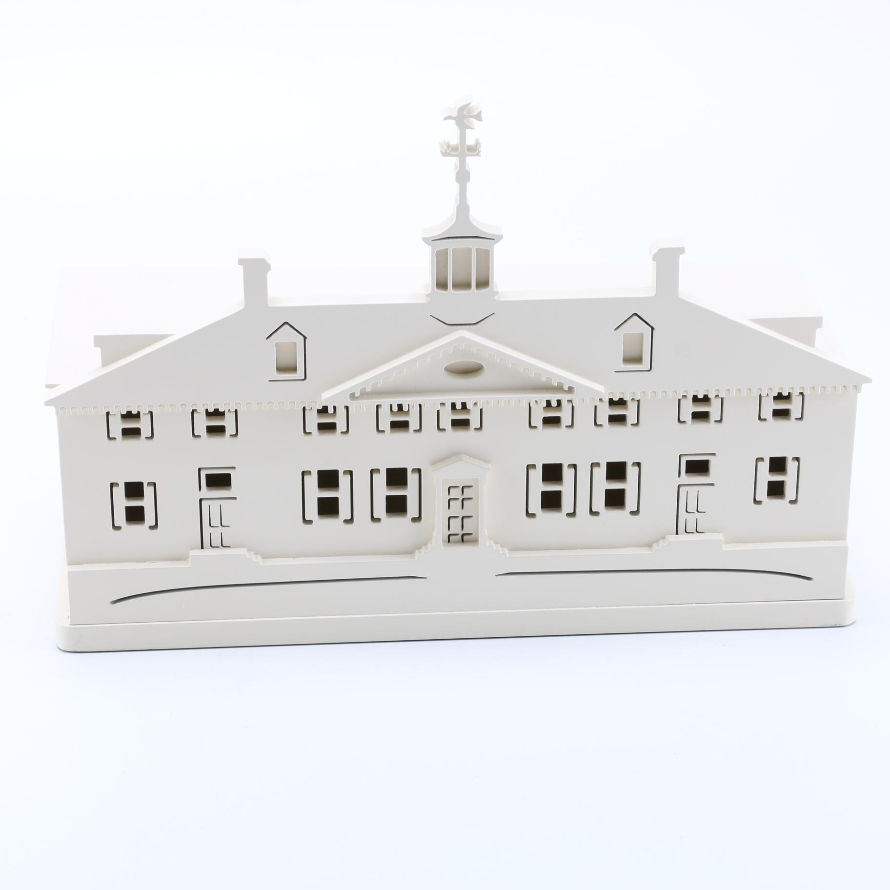 Colonial Building Shaped Box by Brandywine Woodcrafts