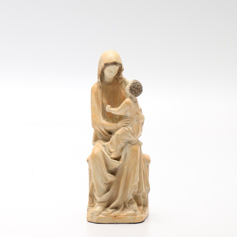 Metropolitan Museum of Art Mother and Child Figurine