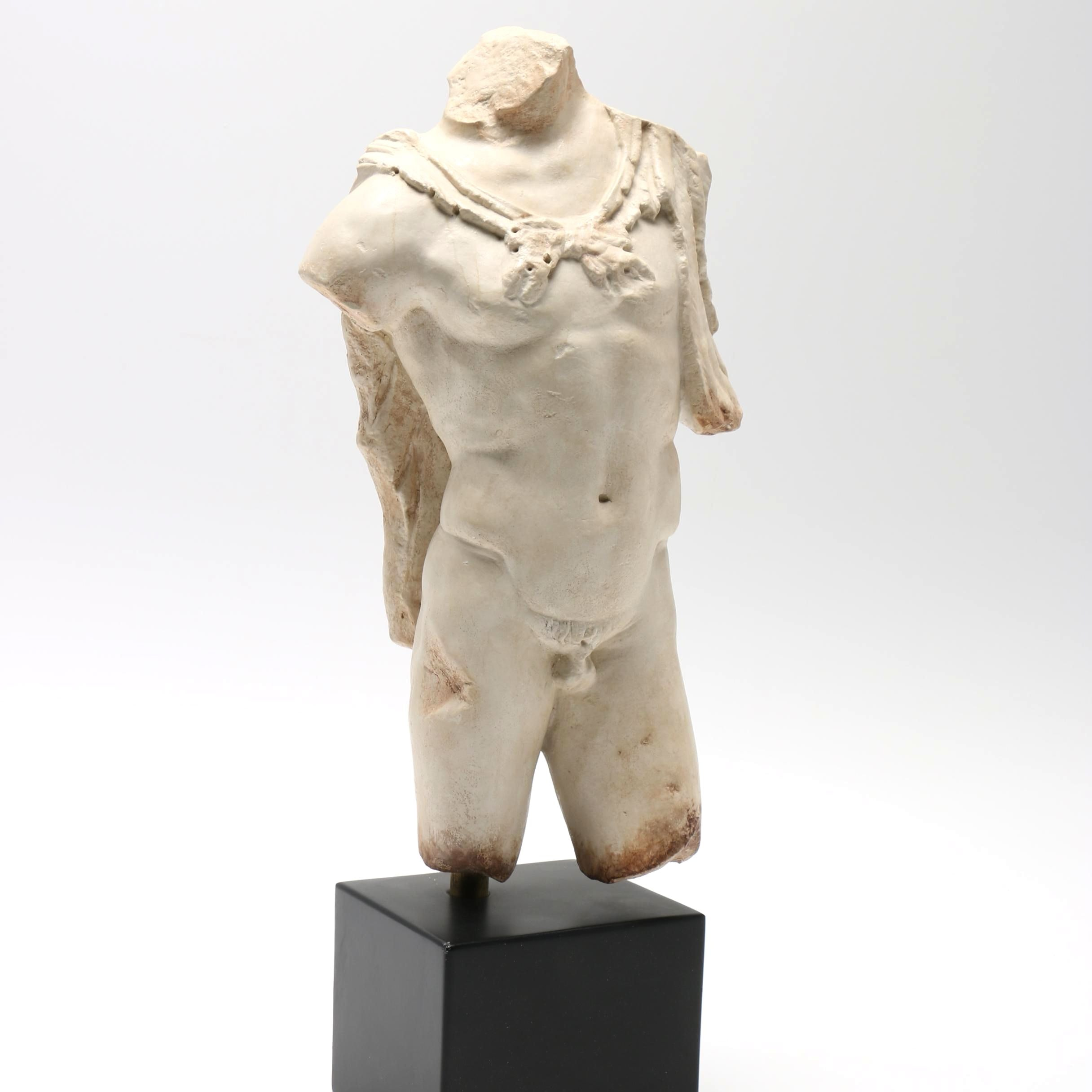 Reproduction Male Torso Sculpture