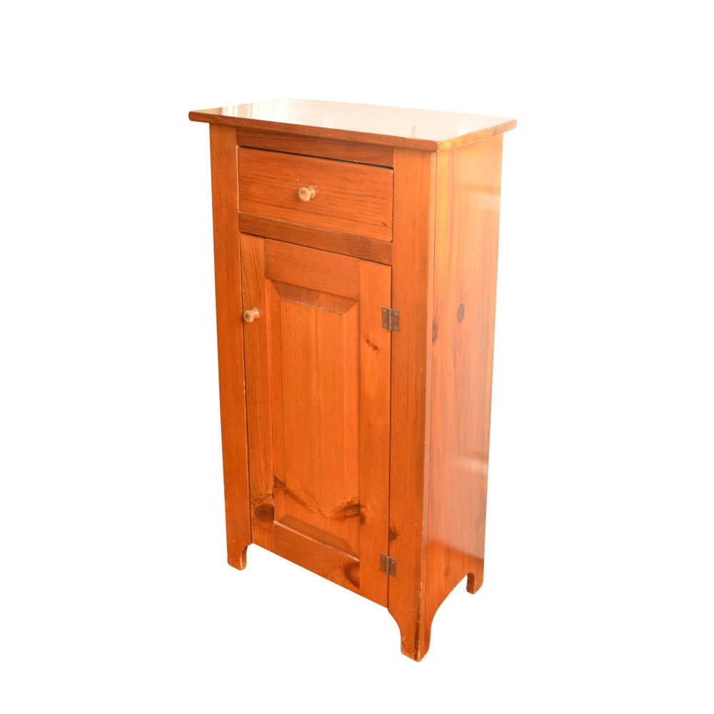 Pine Shaker Style Cabinet
