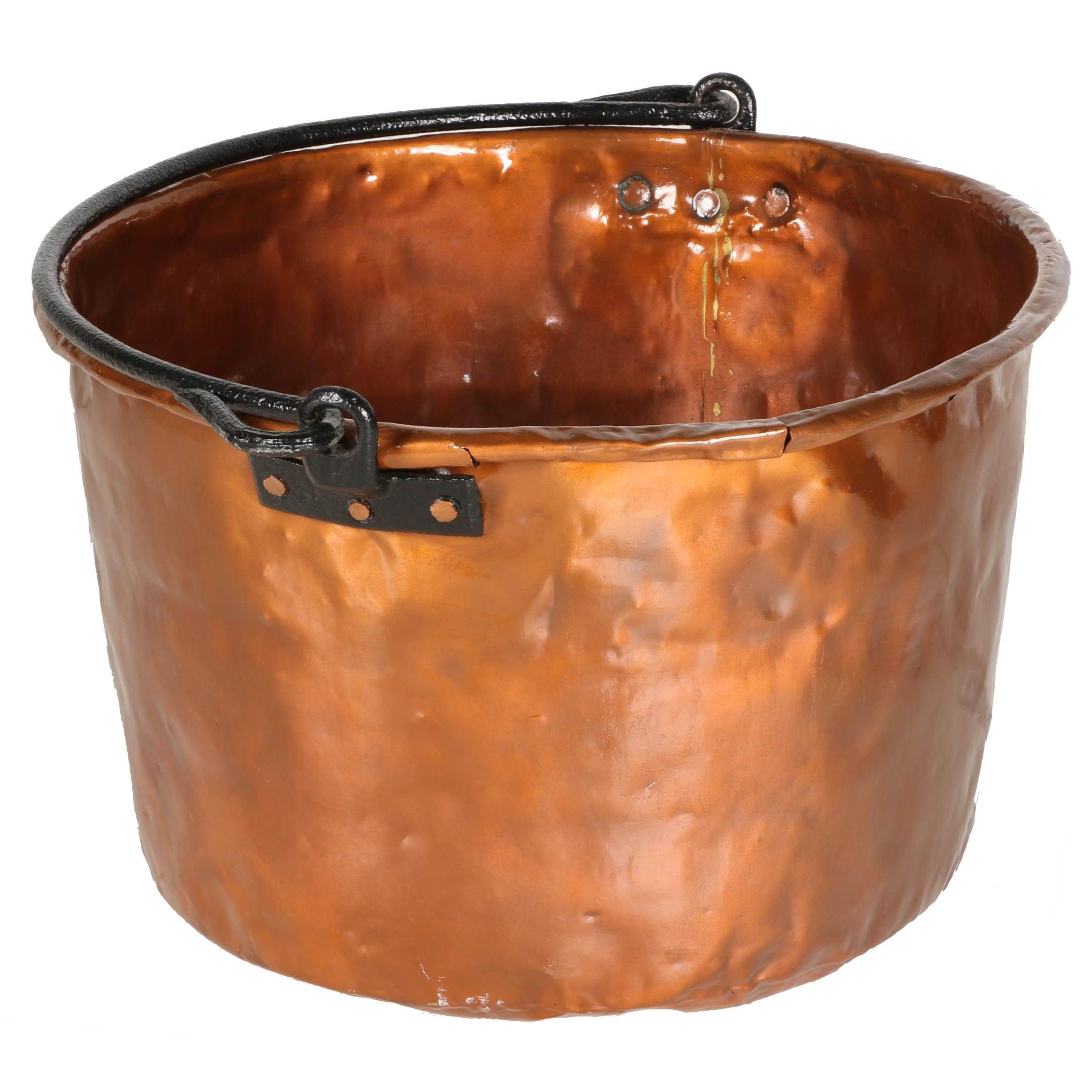 Large Vintage Copper Basin