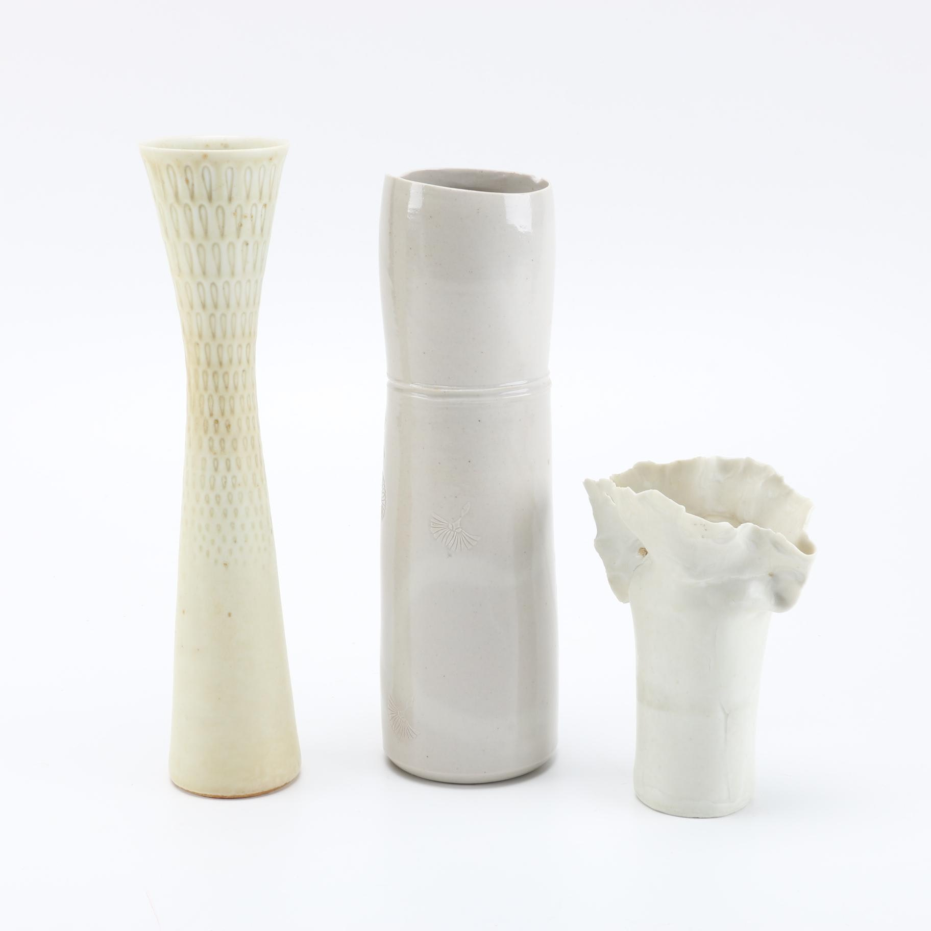 Mid-Century Rörstrand Vase by Carl Harry Stålhane