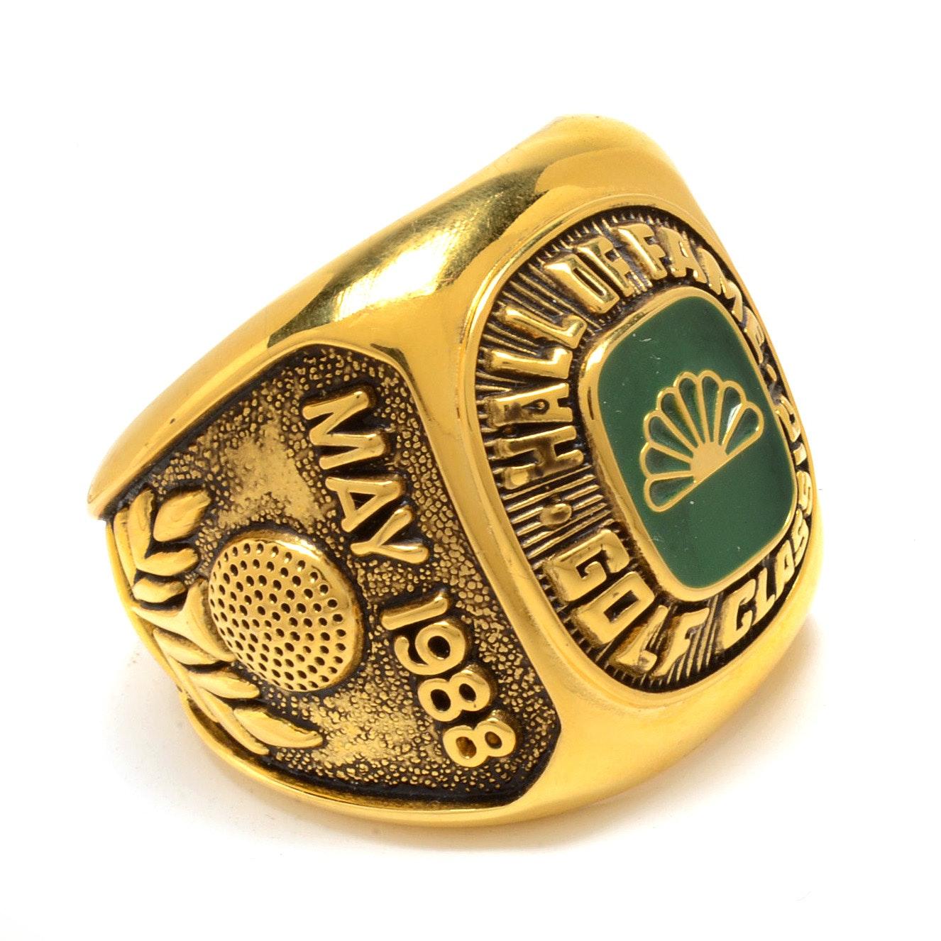 Personally Owned Joe DiMaggio Golf Ring COA