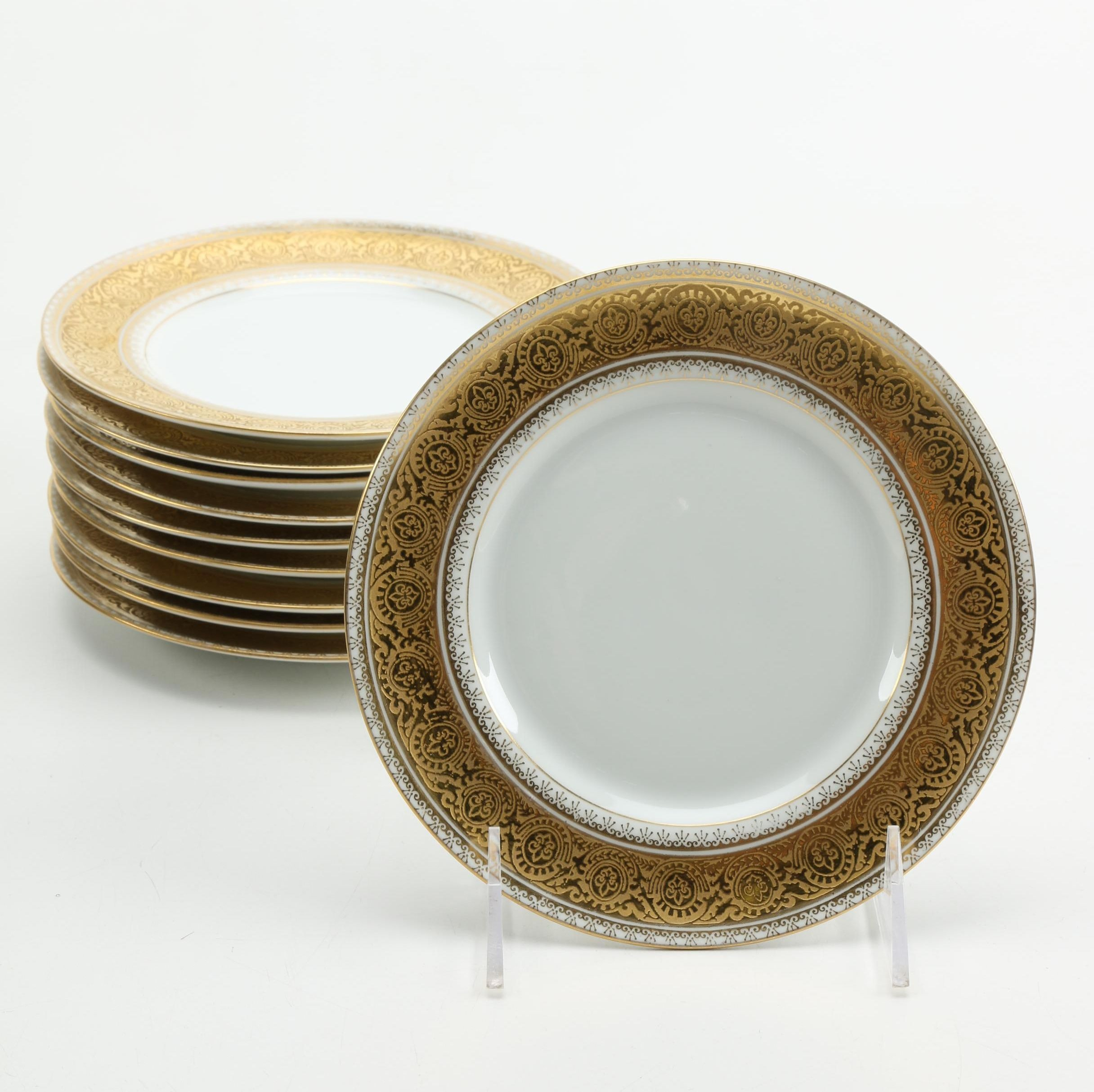 Limoges M. Redon China Plates ... : limoges dinnerware - pezcame.com