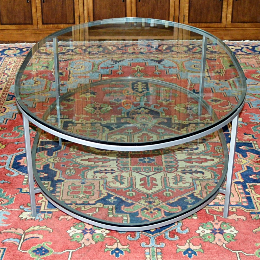Closson's Glass Coffee Table