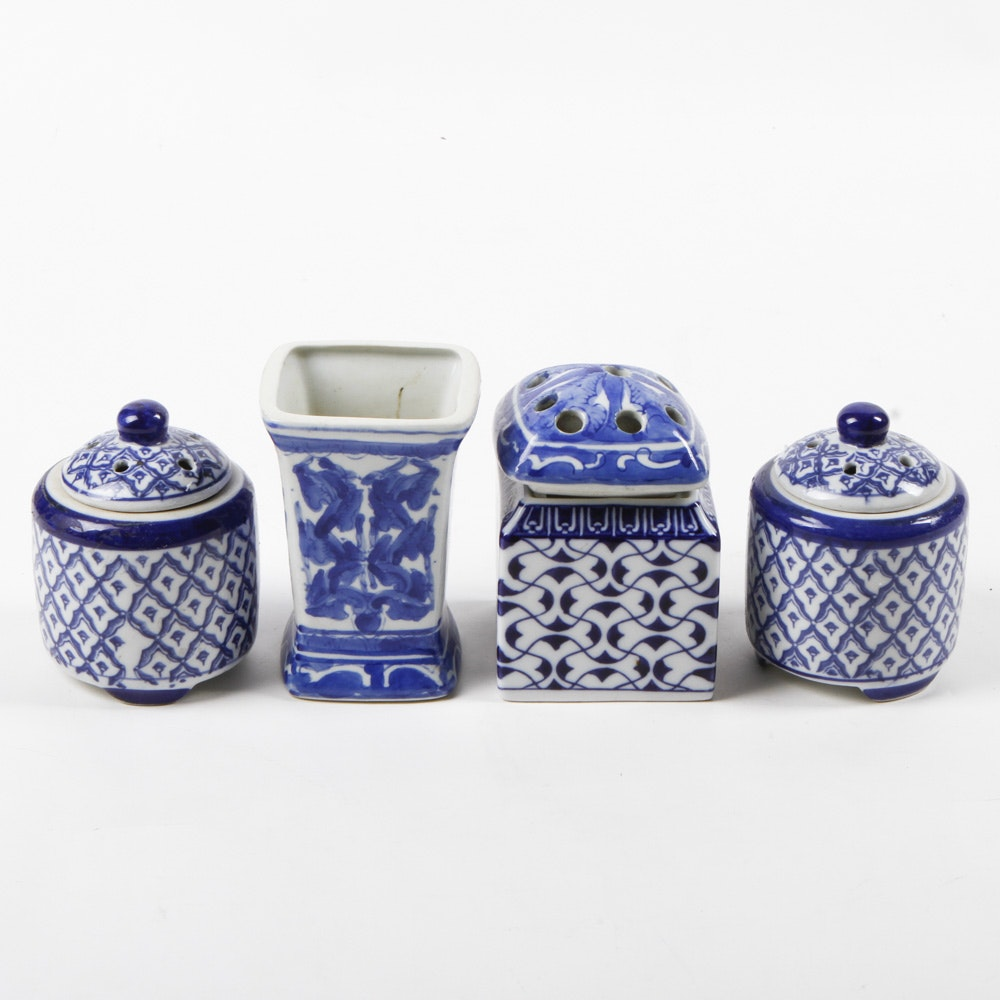 Collection of Chinese Potpourri Dishes
