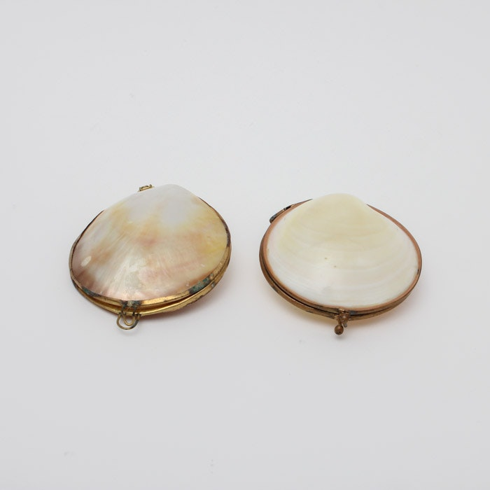 Vintage Shell Coin Purses