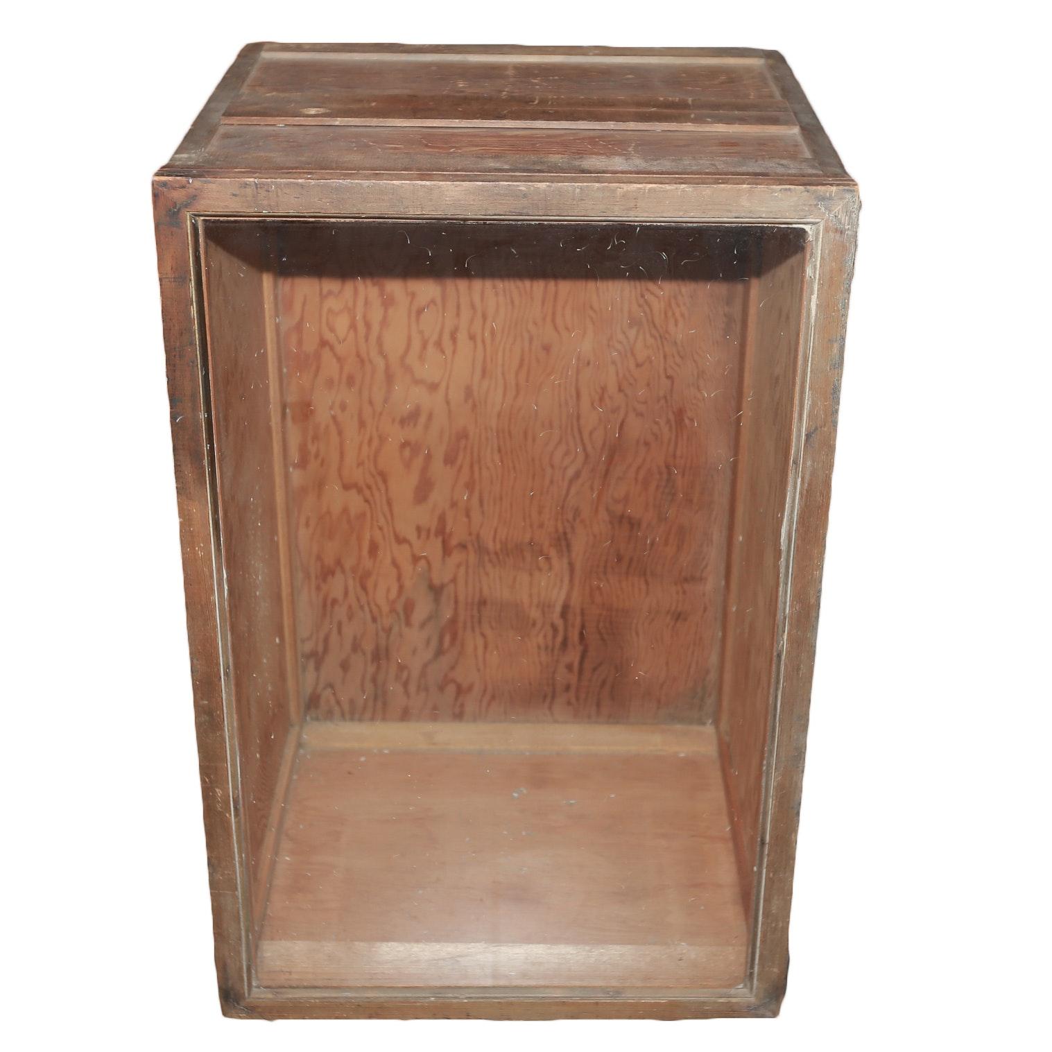 Wooden Curio Cabinet In Market
