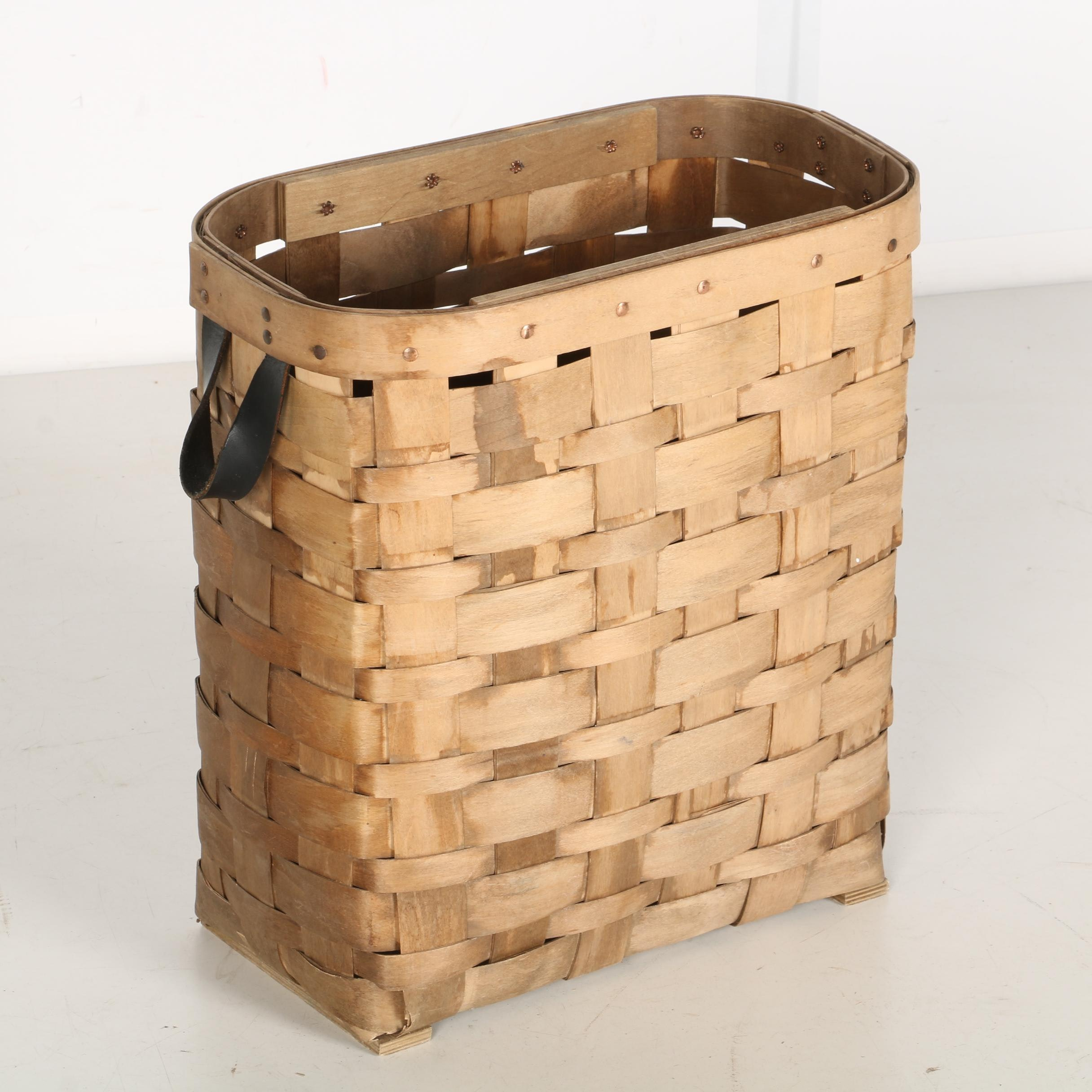 Mountain Trails Hand-woven Basket
