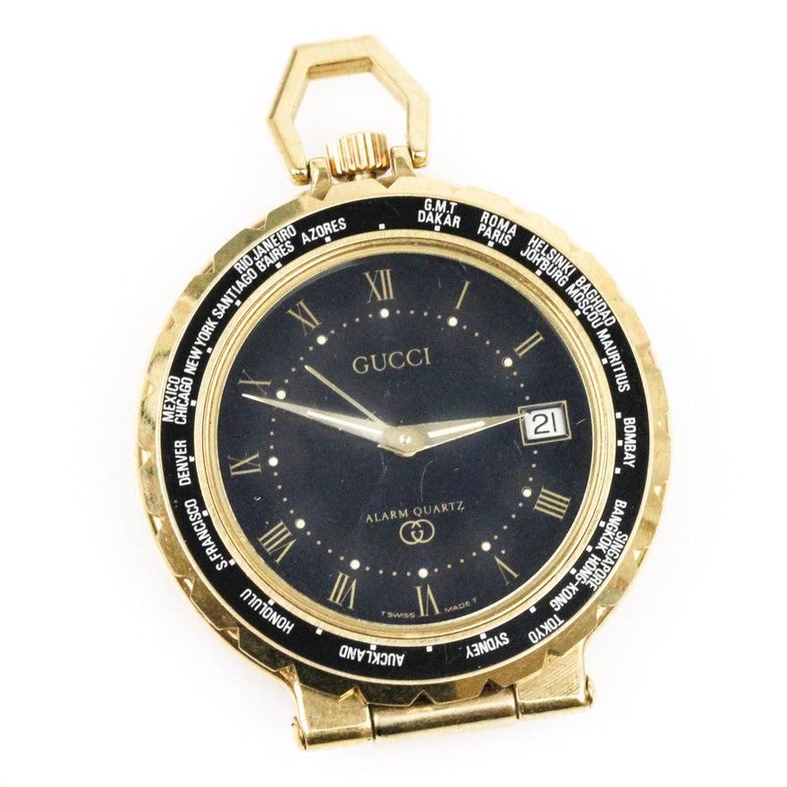 1dea0135b6b Gucci Time Zone Pocket Watch