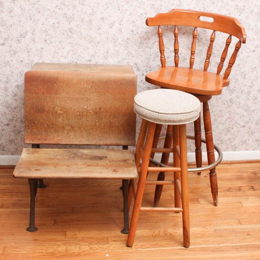 Trio of Vintage Seats
