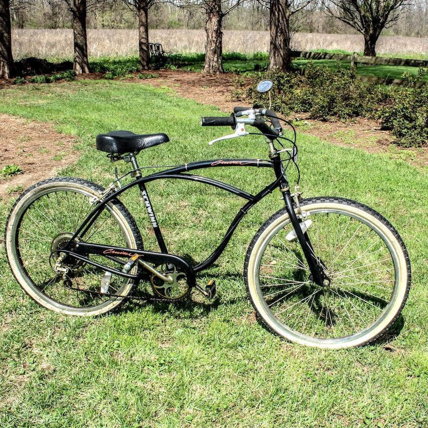 Vintage Schwinn Cruiser 5 Speed Bike