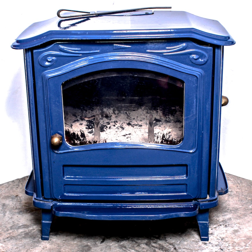 Efel Symphony Cast Iron And Enamel Wood Burning Stove