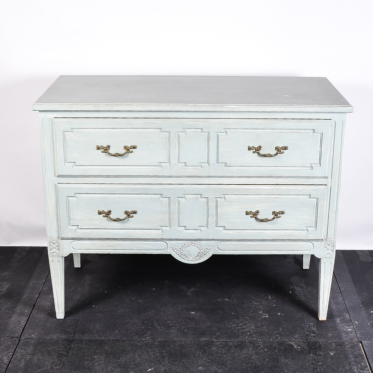 Distressed Mint Green Painted Dresser