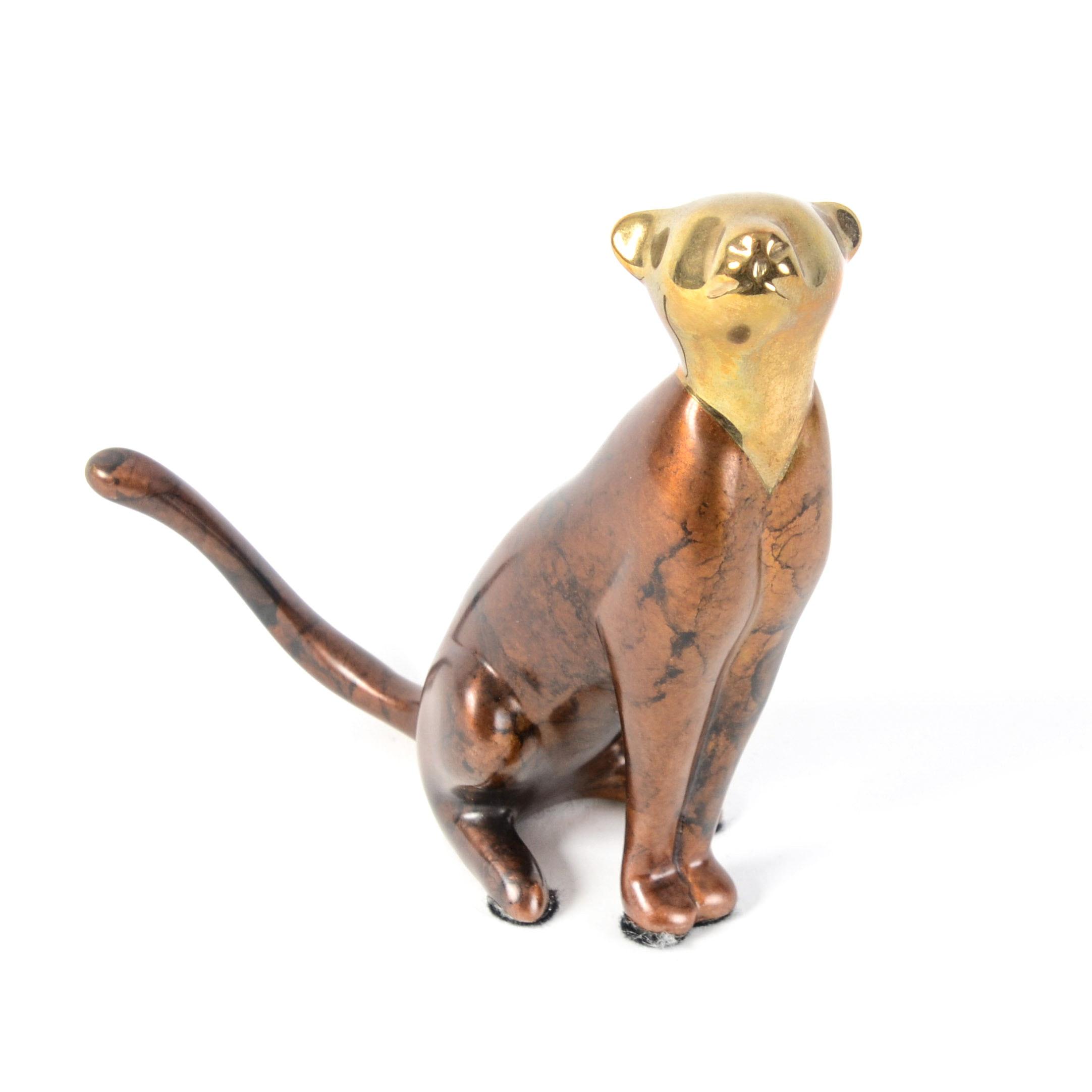 Loet Vanderveen Limited Edition Bronze Feline