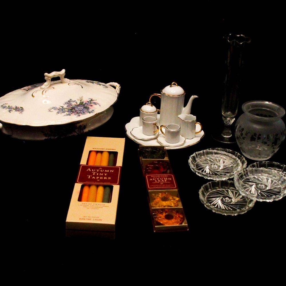 Décor Featuring Limoges Porcelain