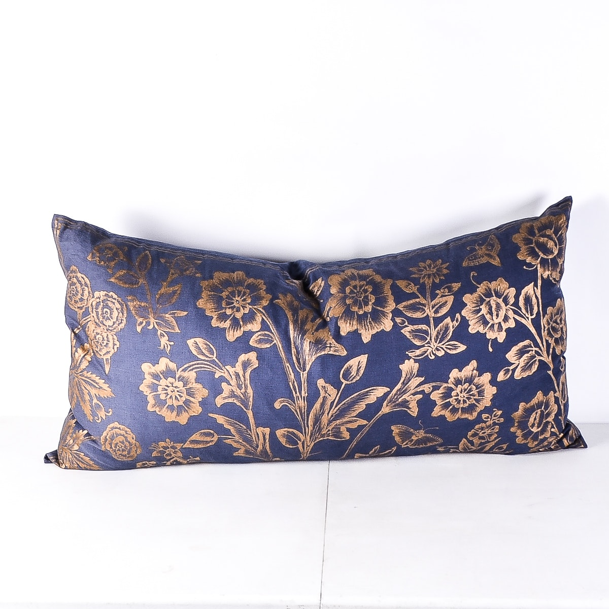 Decorative Linen Upholstered Down Filled Pillow