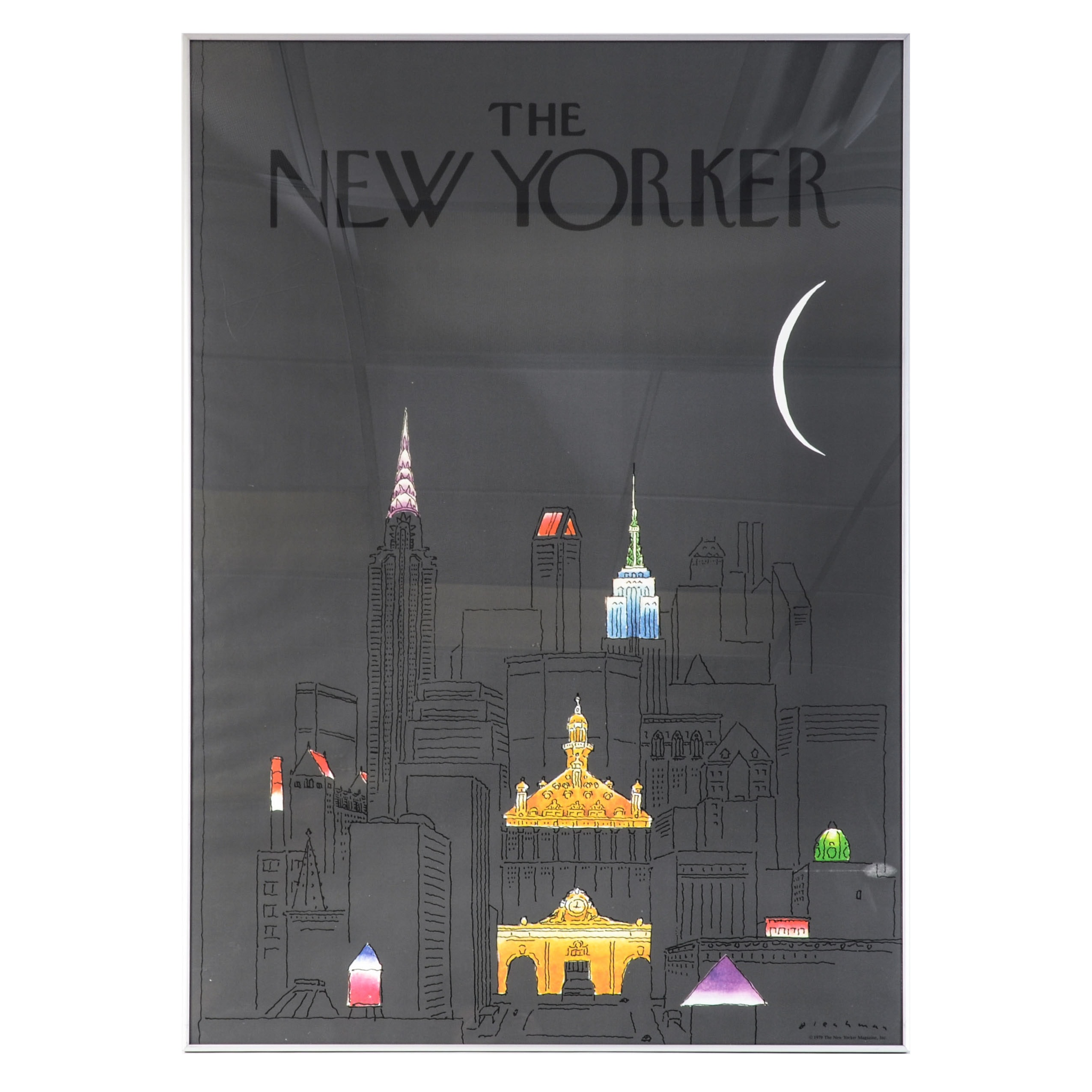 """Offset Lithographic Advertisement for """"The New Yorker"""""""
