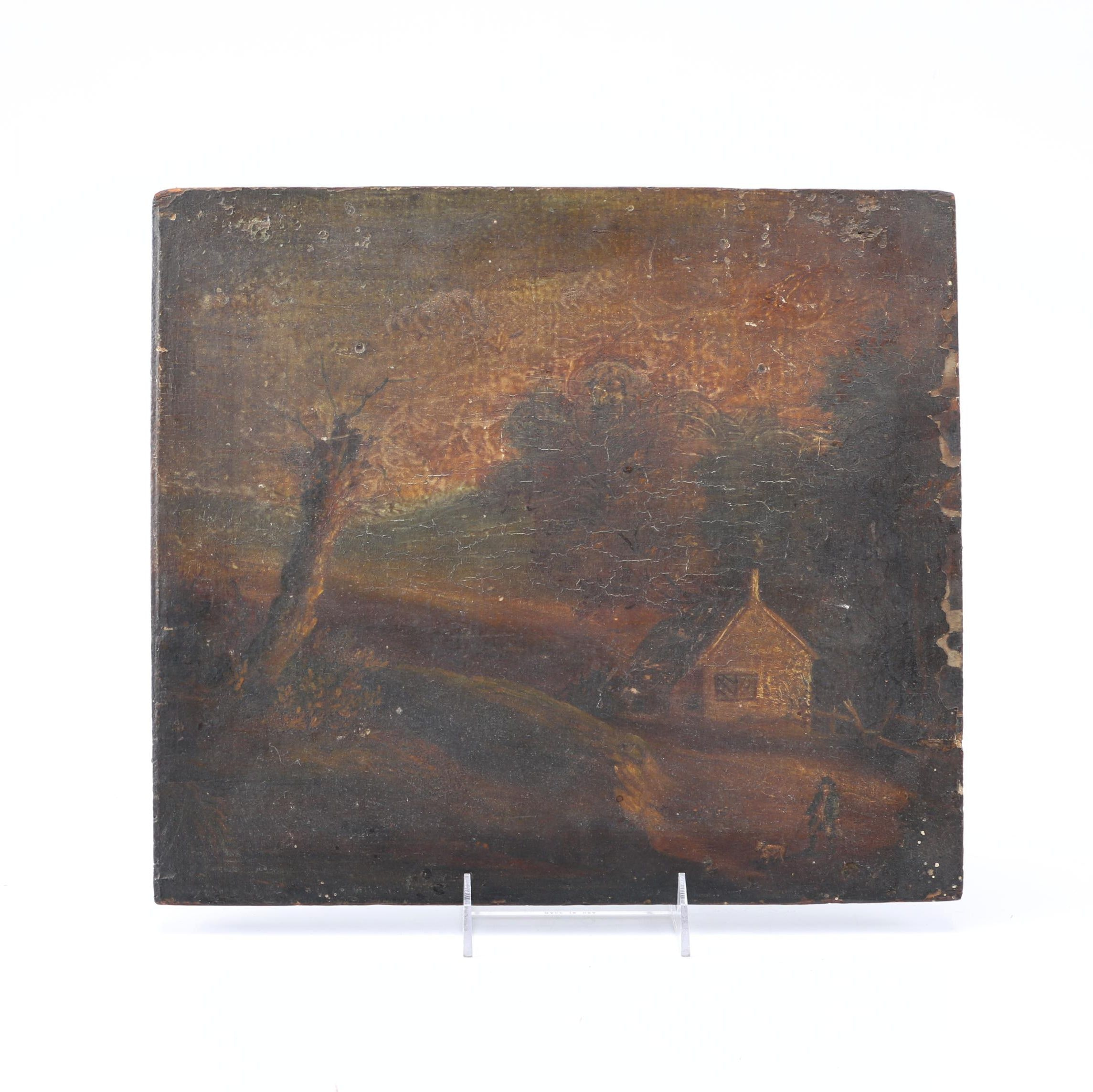 Original Oil Landscape Painting on Board
