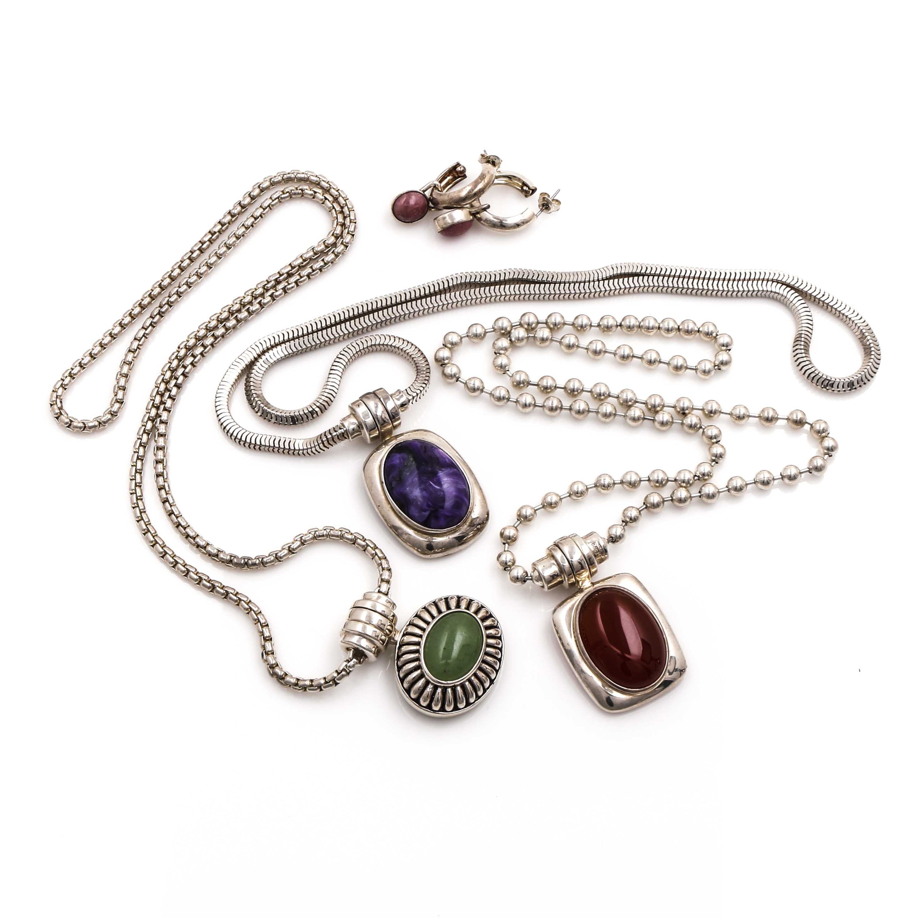 Joseph Esposito Sterling Silver Jewelry Assortment