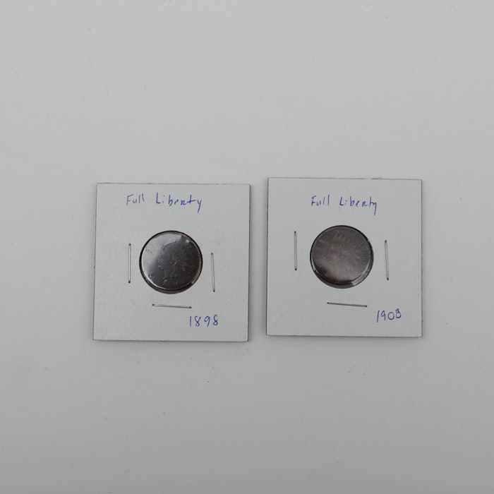 Two Indian Head Cents