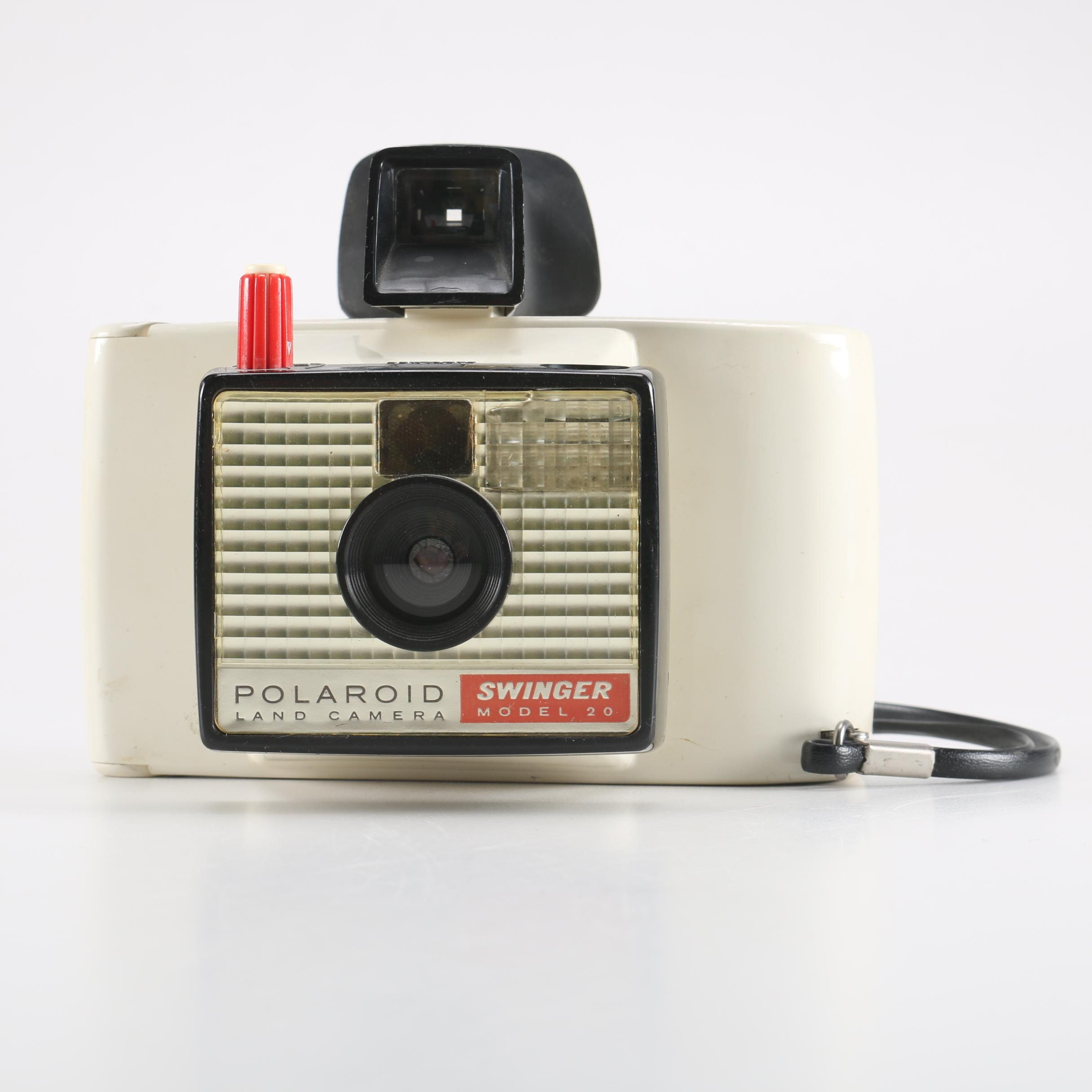Vintage Polaroid Swinger Model 20