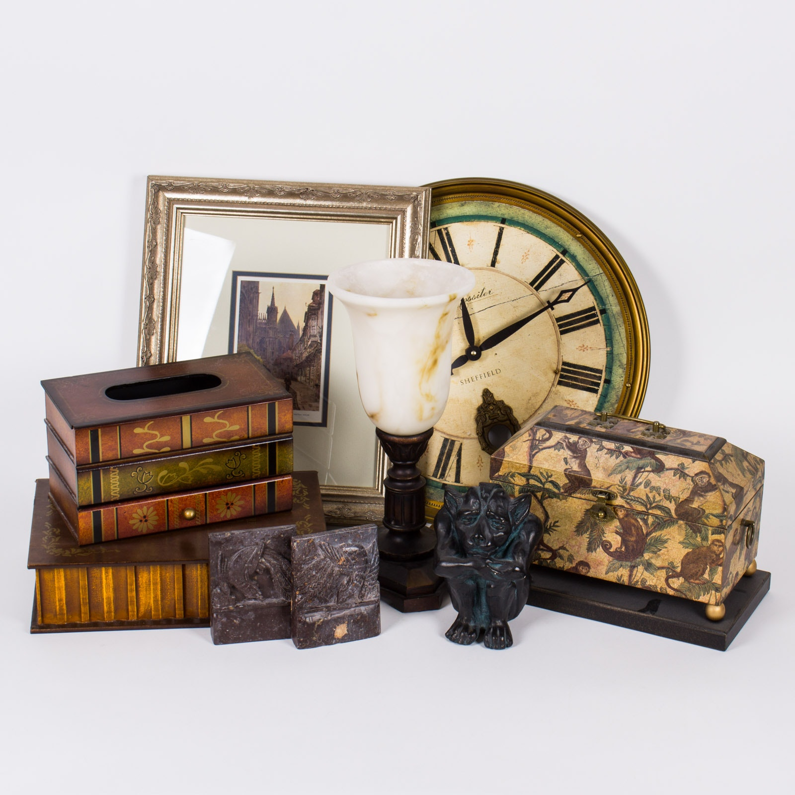 Collection of Library Home Decor