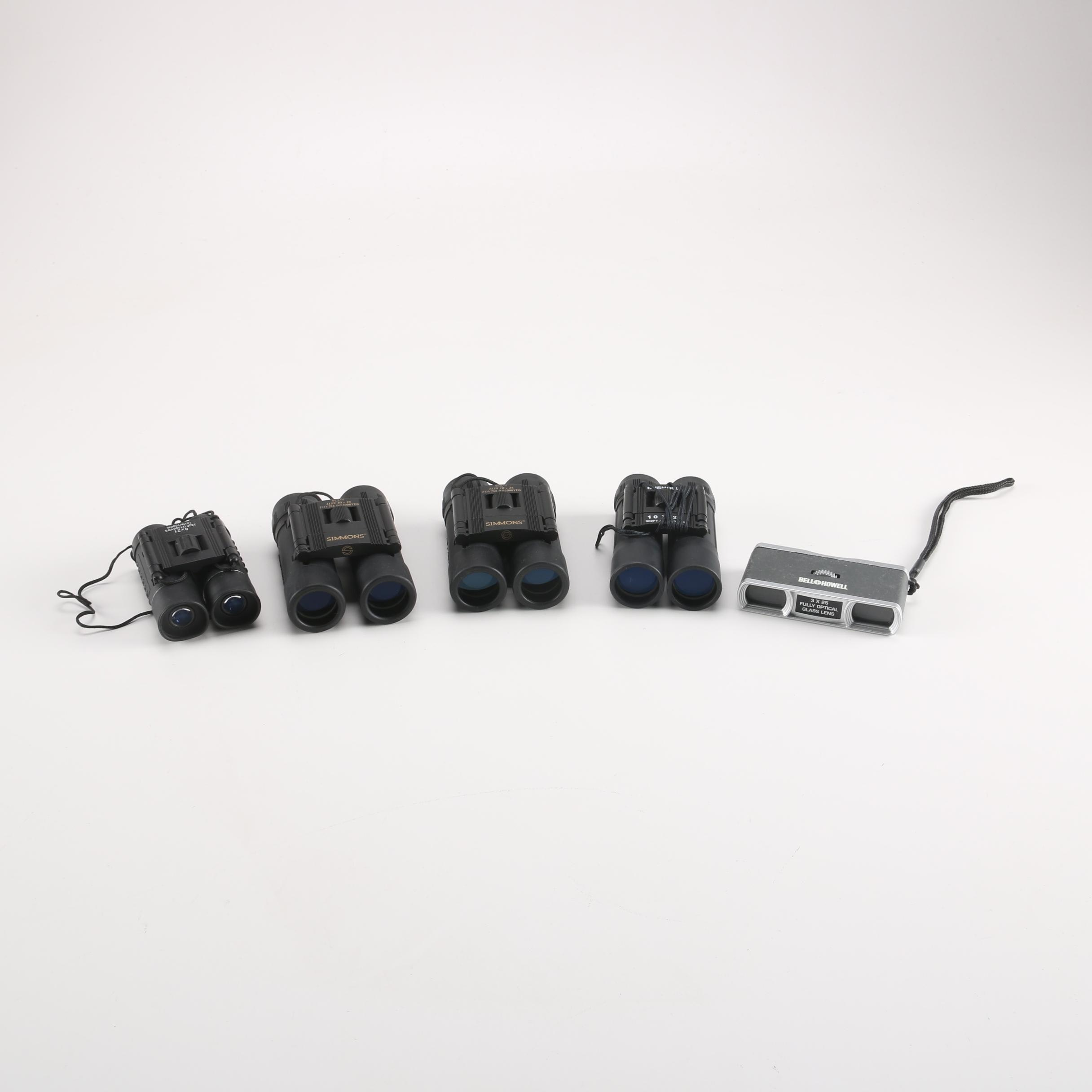 Assorted Travel Binoculars