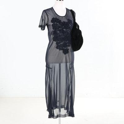 Comme des Garçons Dress and Handbag
