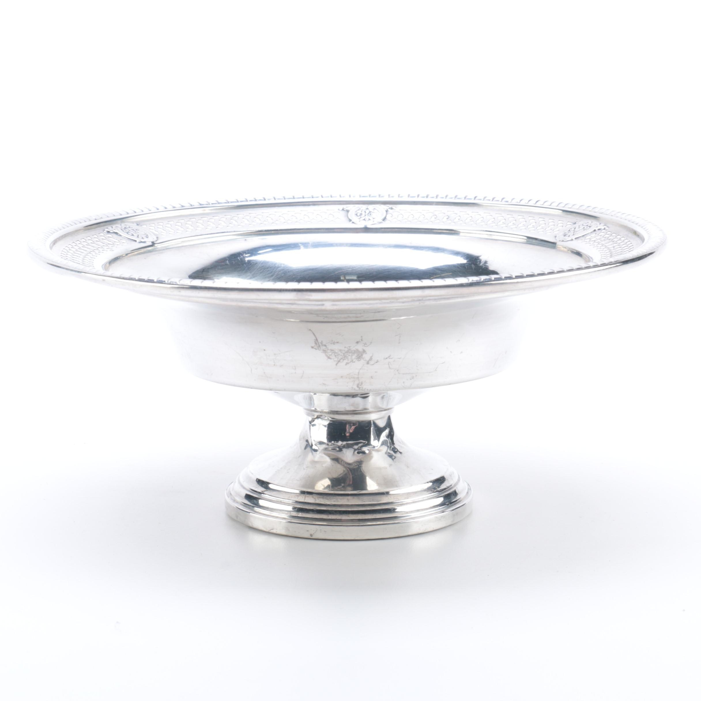 Revere Weighted Sterling Silver Compote