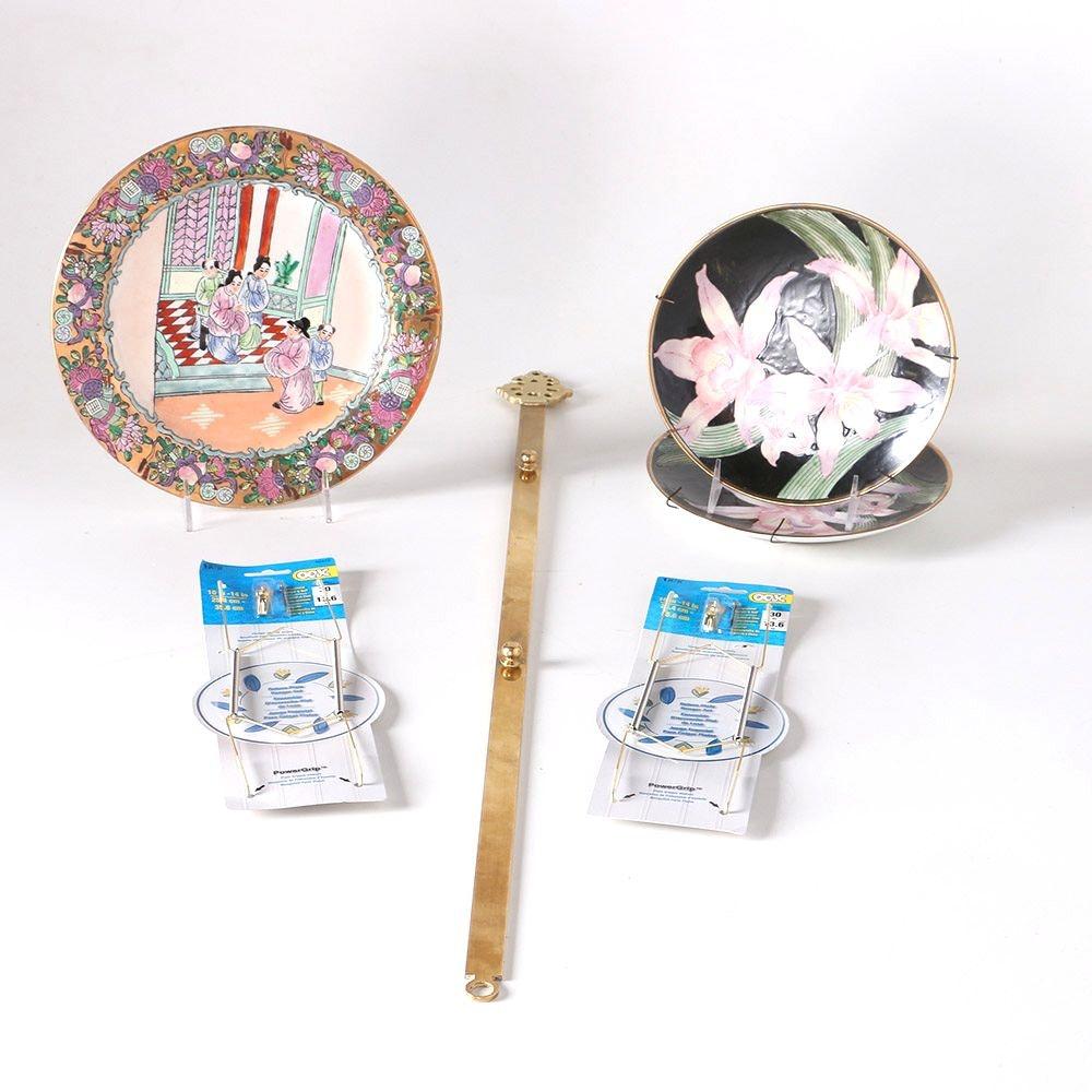 Decorative Chinese Porcelain Plates