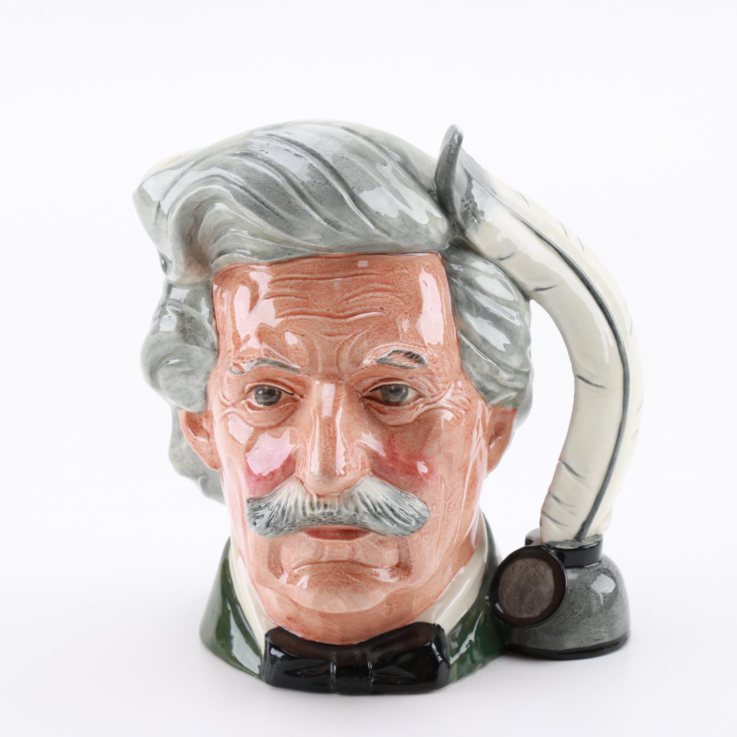 "Royal Doulton ""Mark Twain"" Mug"