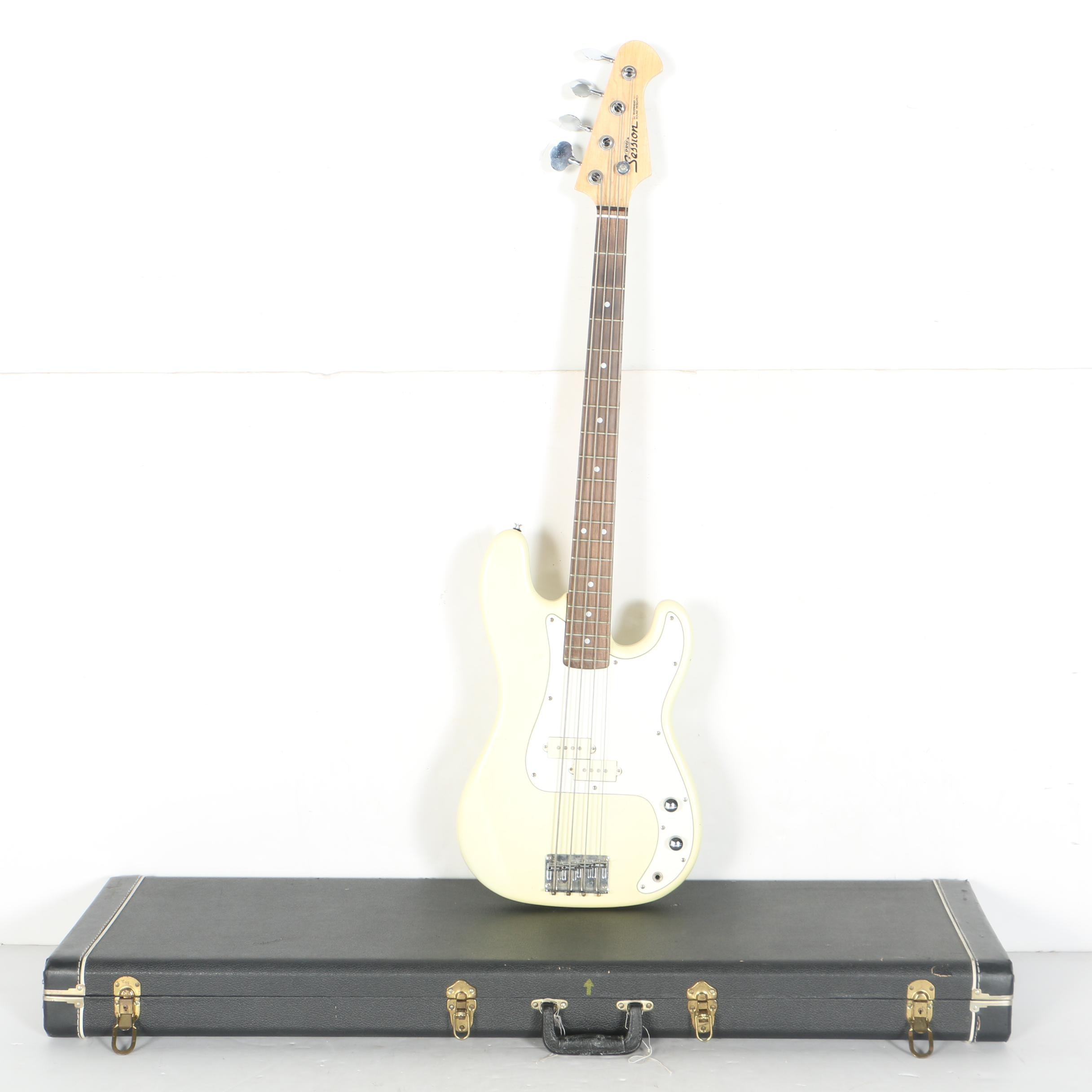 Riverhead Sound Research Session Pro Electric Bass Guitar